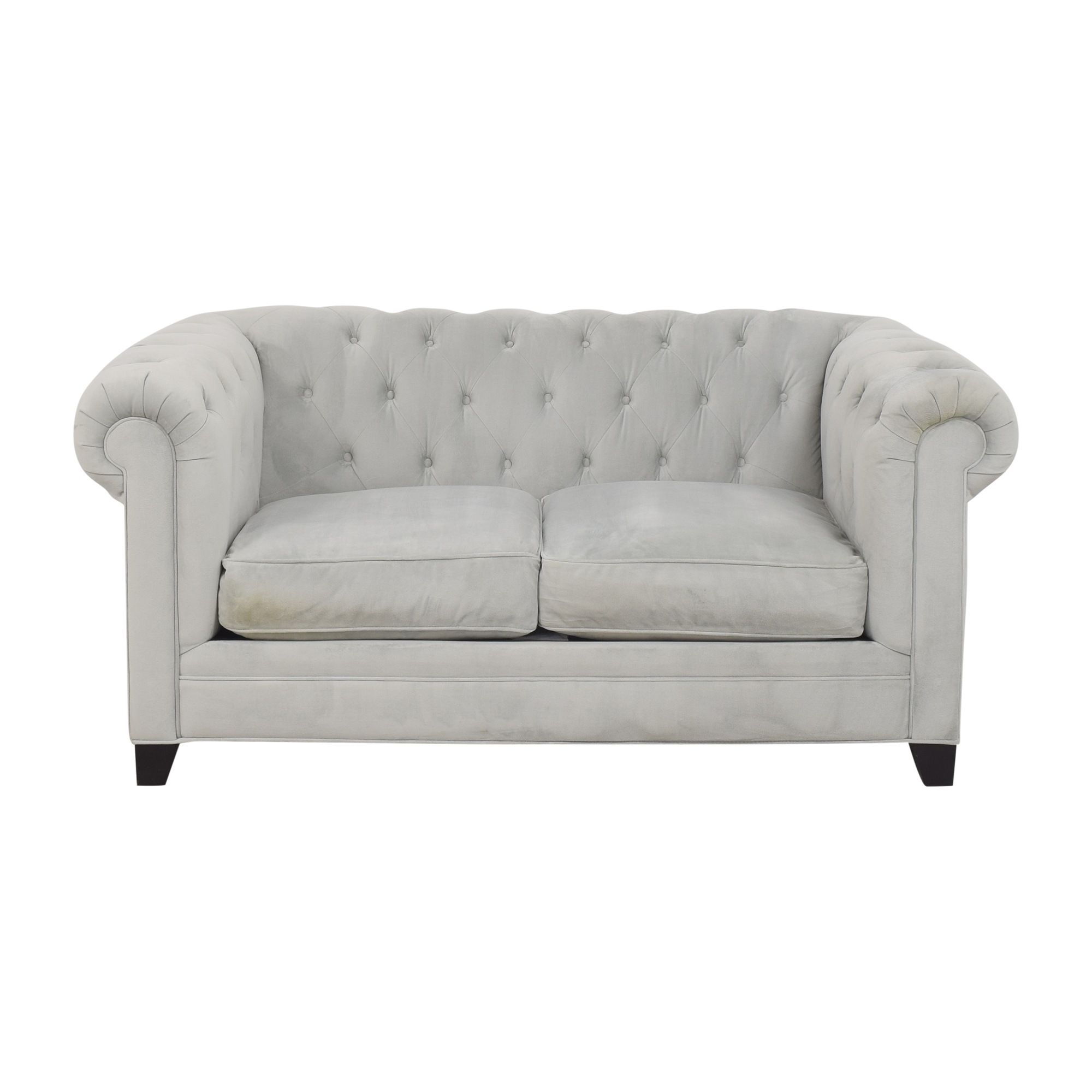 Macy's Macy's Martha Stewart Collection Saybridge Loveseat dimensions