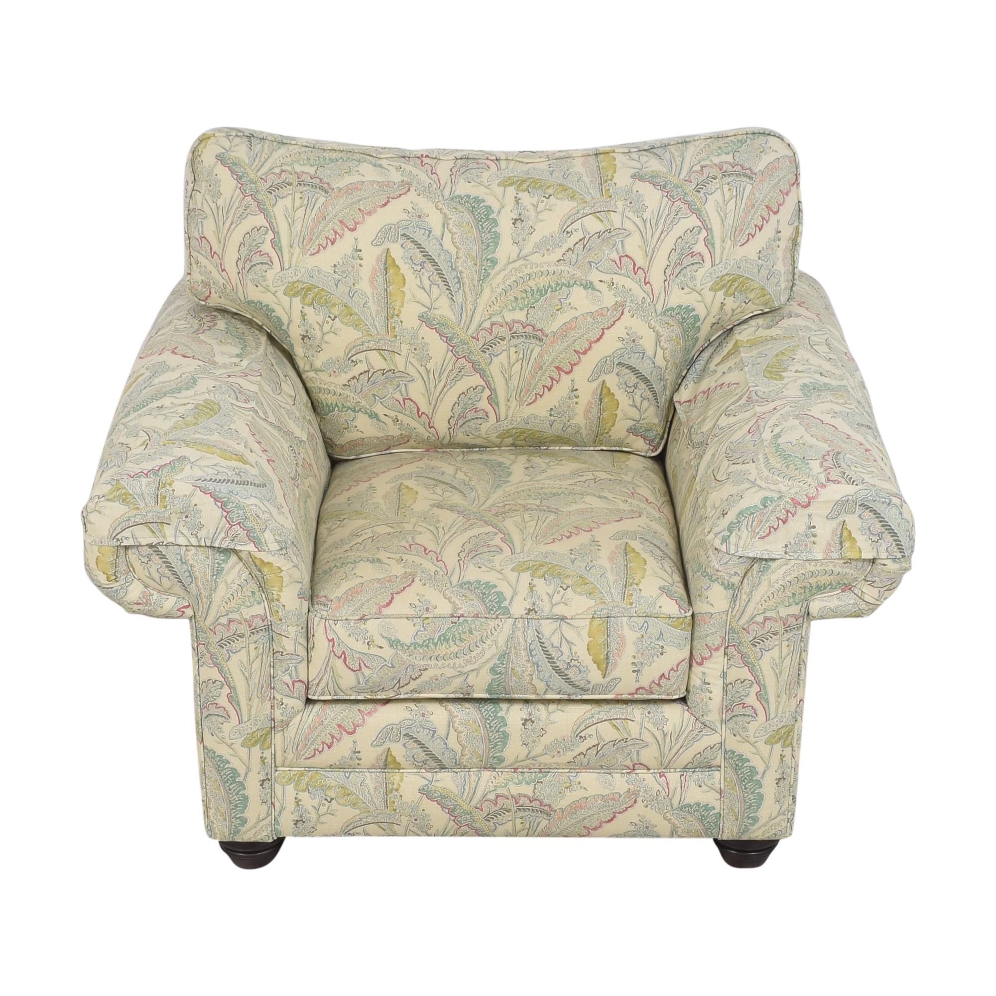 shop Bassett Furniture Custom Upholstered Arm Chair Bassett Furniture