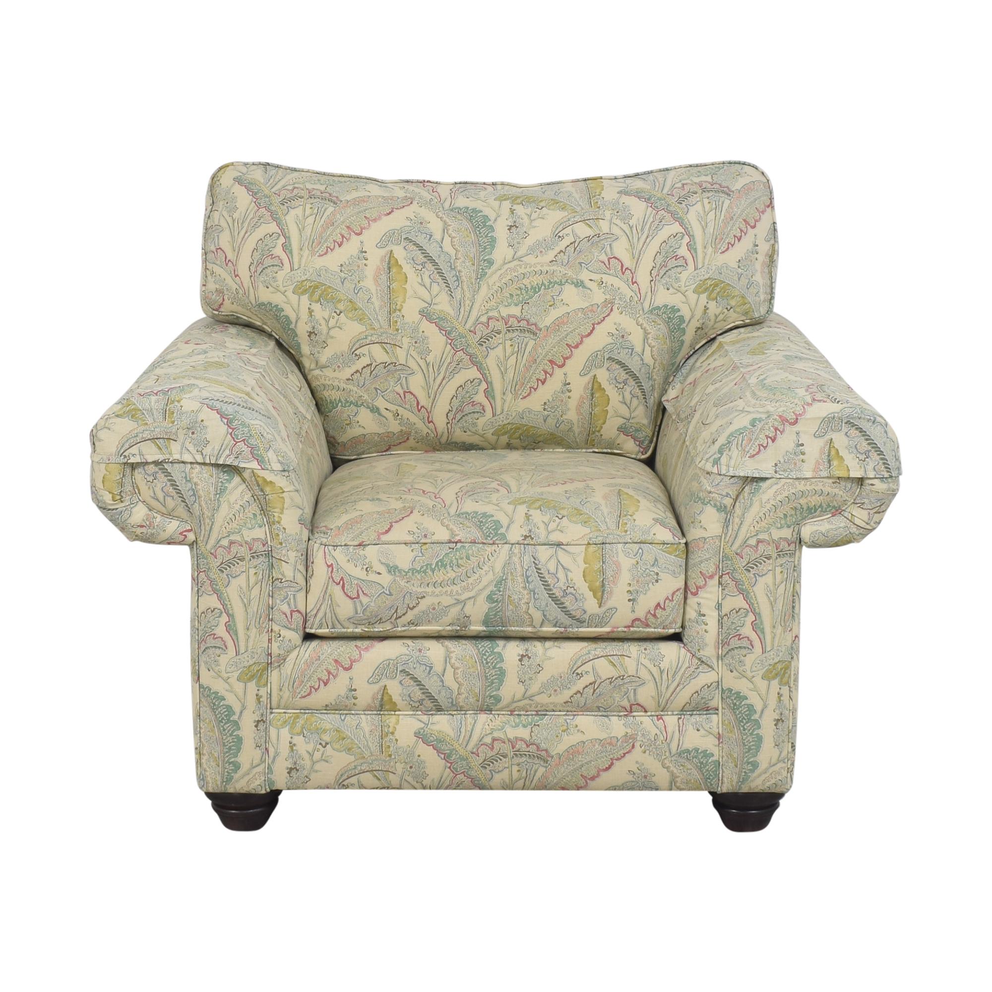 Bassett Furniture Bassett Furniture Custom Upholstered Arm Chair Accent Chairs