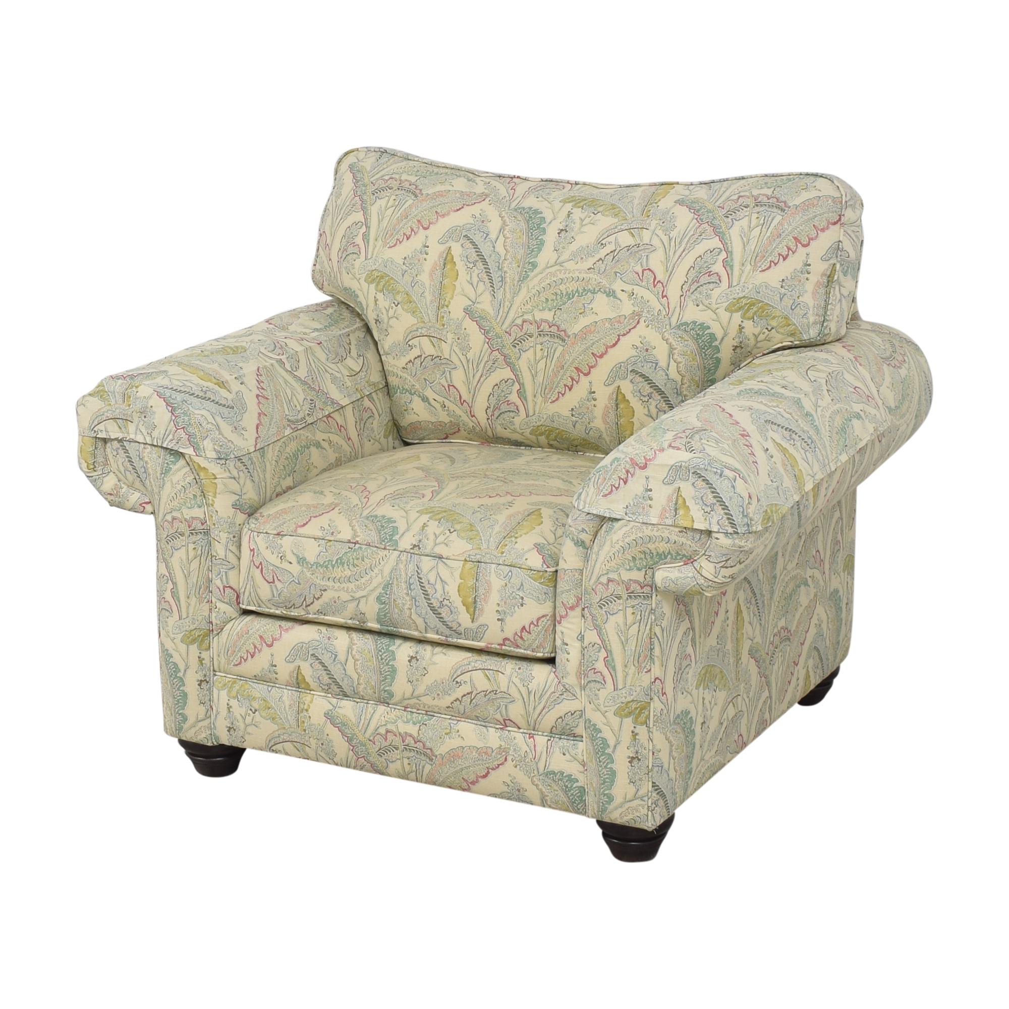 shop Bassett Furniture Custom Upholstered Arm Chair Bassett Furniture Chairs