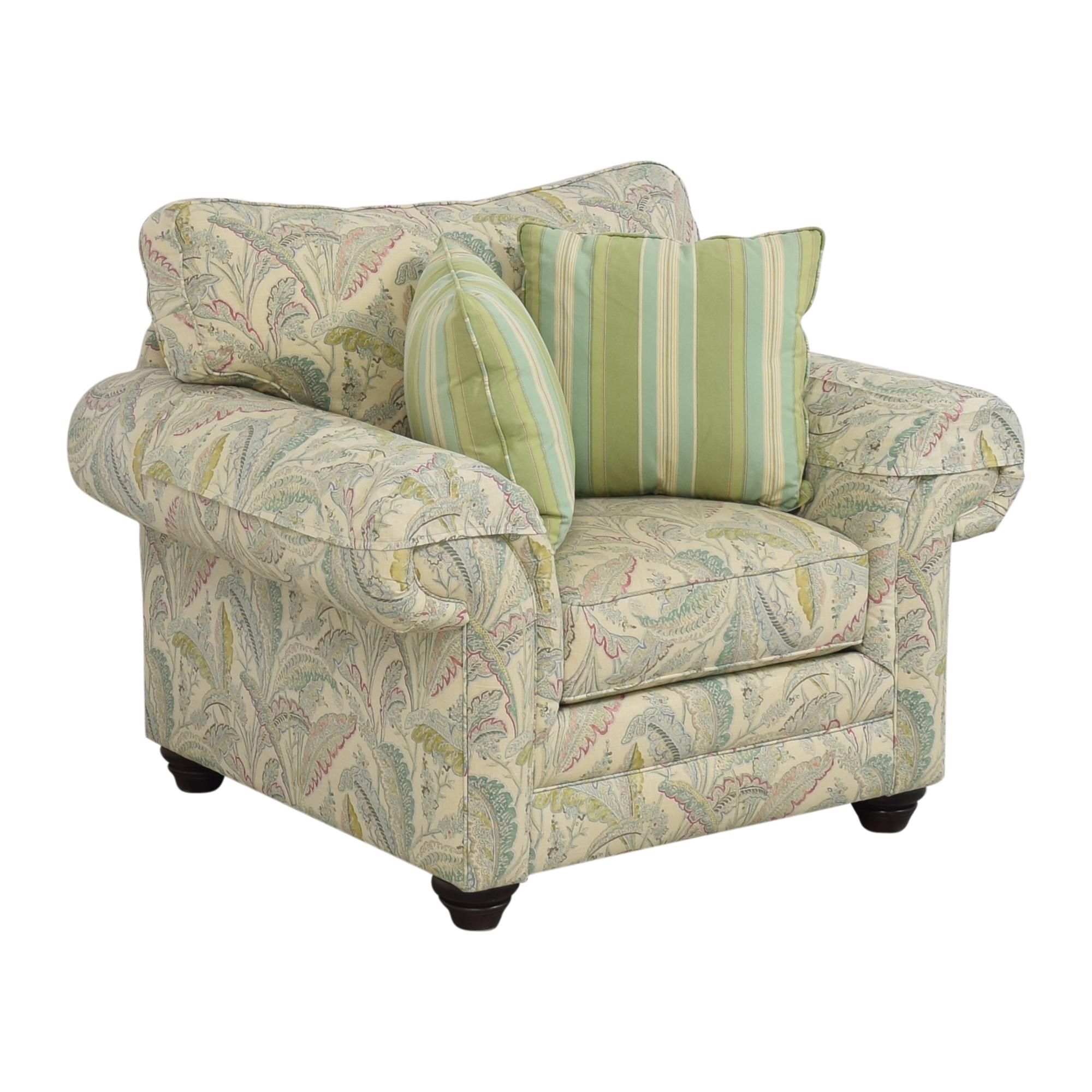 Bassett Furniture Bassett Furniture Custom Upholstered Arm Chair ct