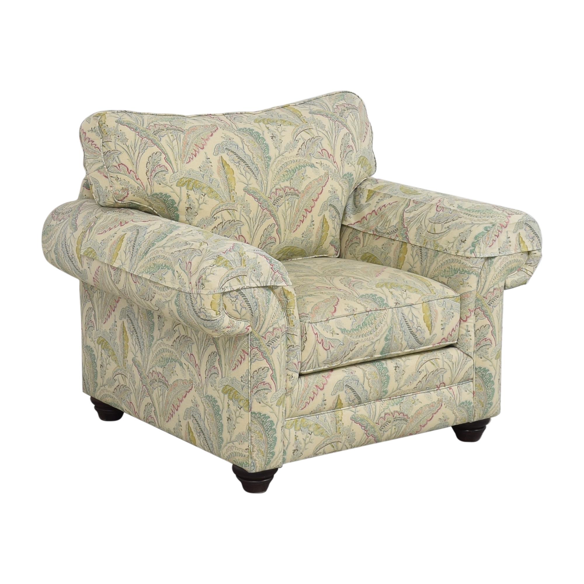 Bassett Furniture Bassett Furniture Custom Upholstered Arm Chair nyc