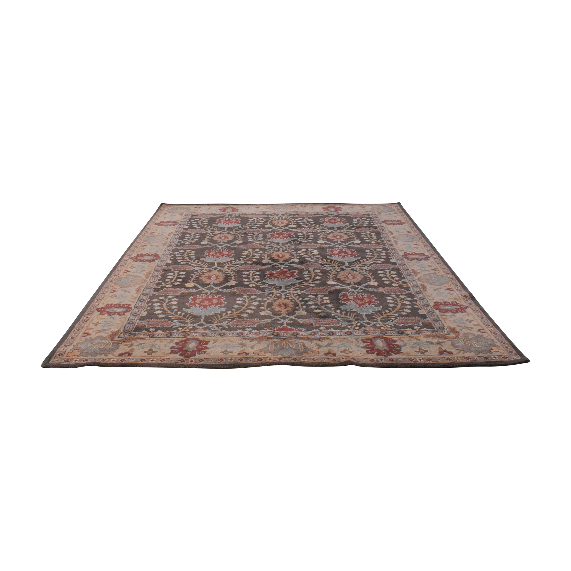 Pottery Barn Pottery Barn Brandon Persian-Style Rug brown