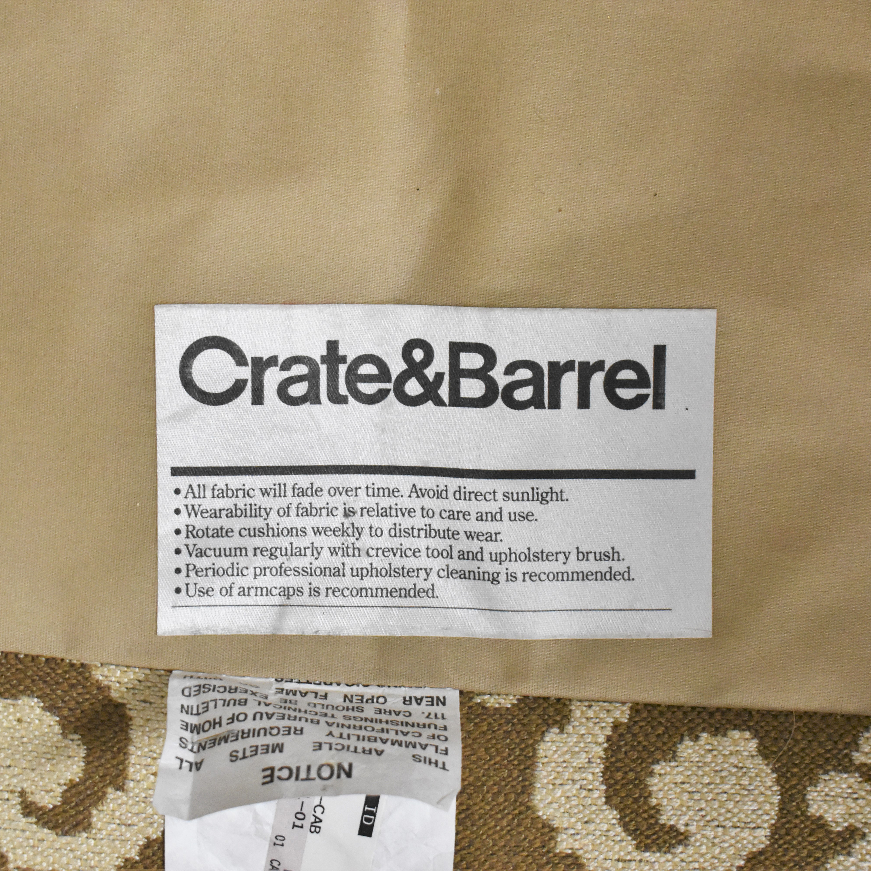 Crate & Barrel Crate & Barrel Elyse Armchair Accent Chairs