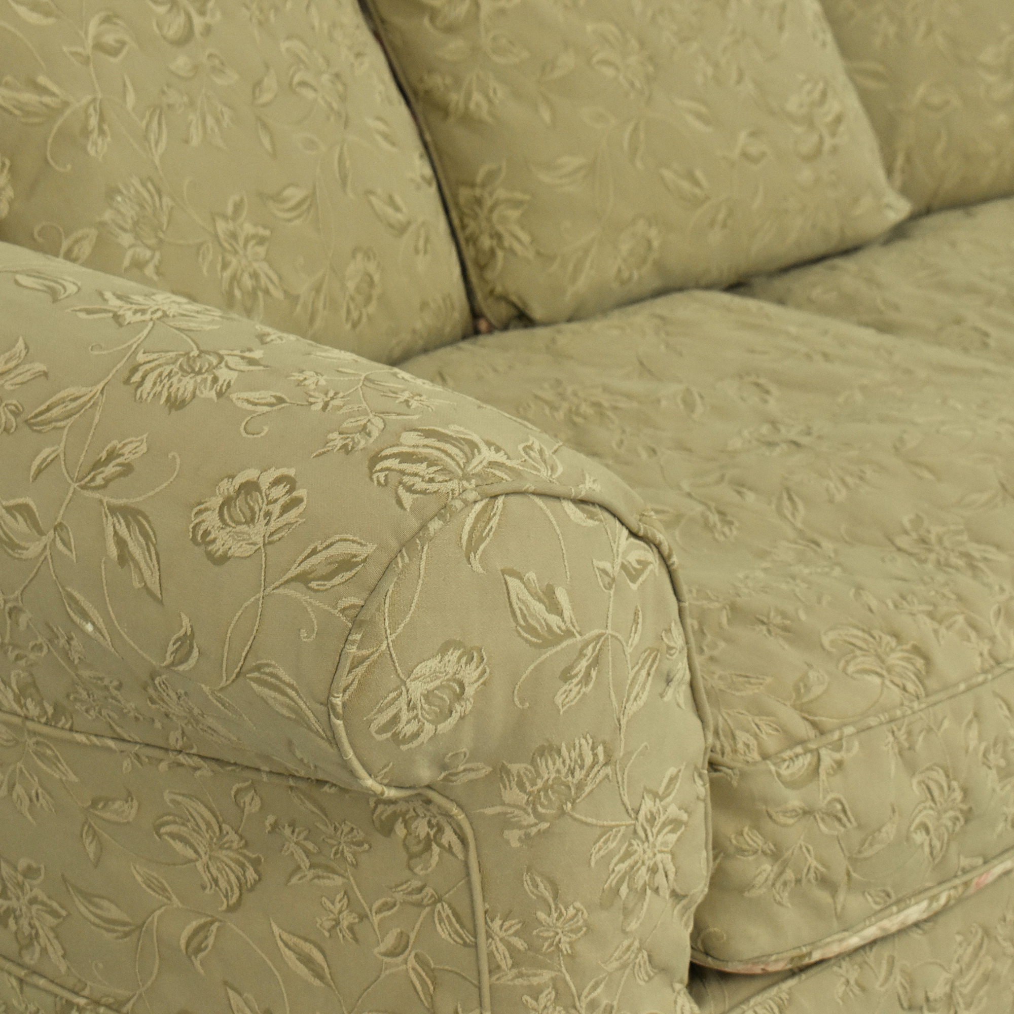 Domain Domain Floral Slipcovered Sofa second hand