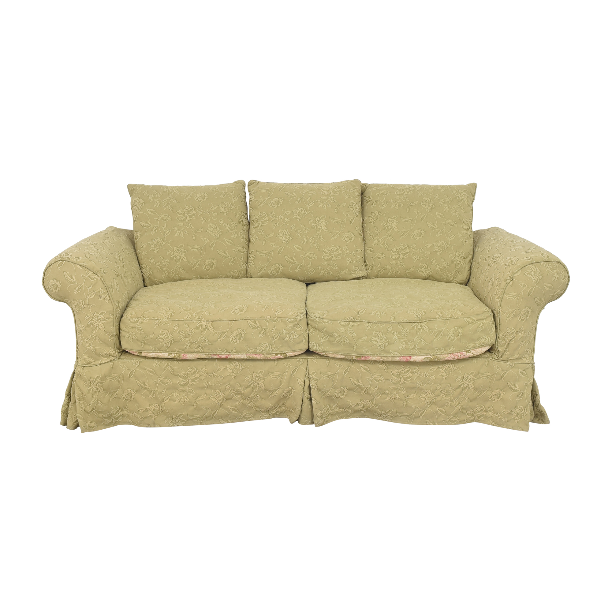 Domain Domain Floral Slipcovered Sofa dimensions