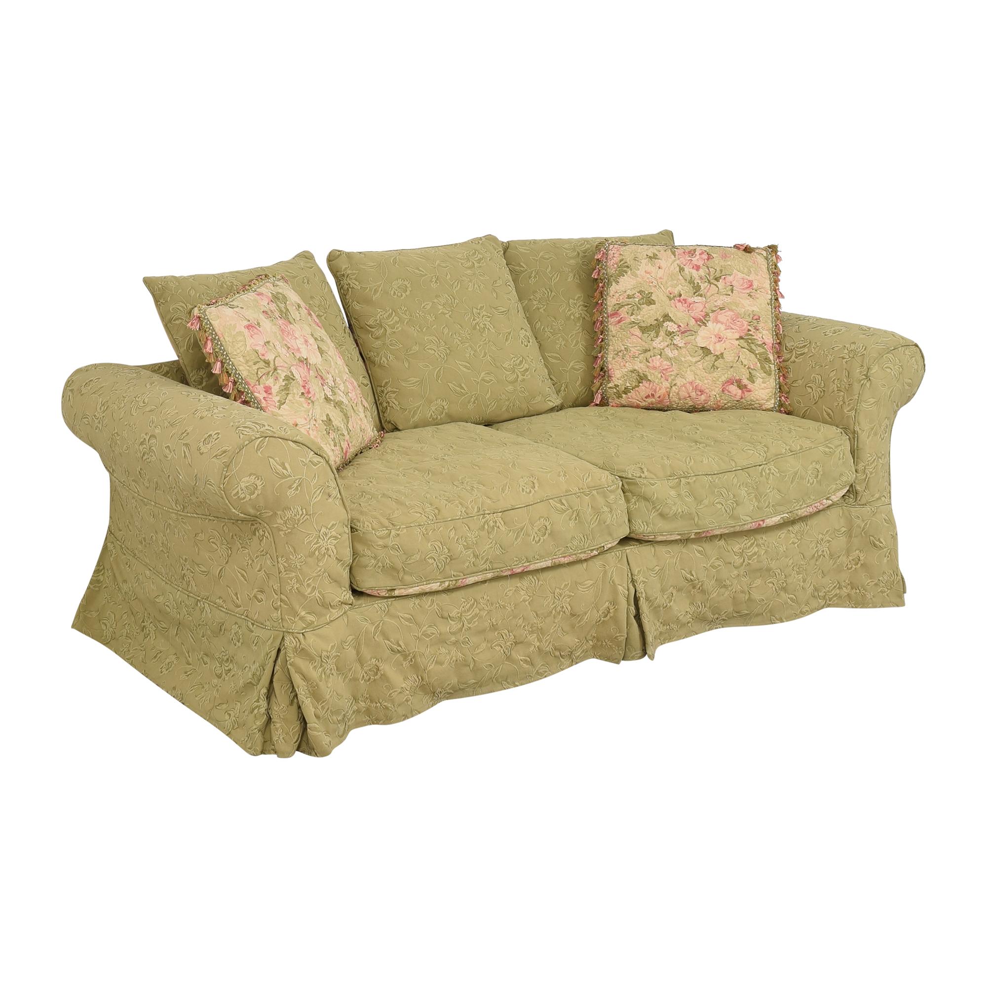 Domain Domain Floral Slipcovered Sofa Sofas
