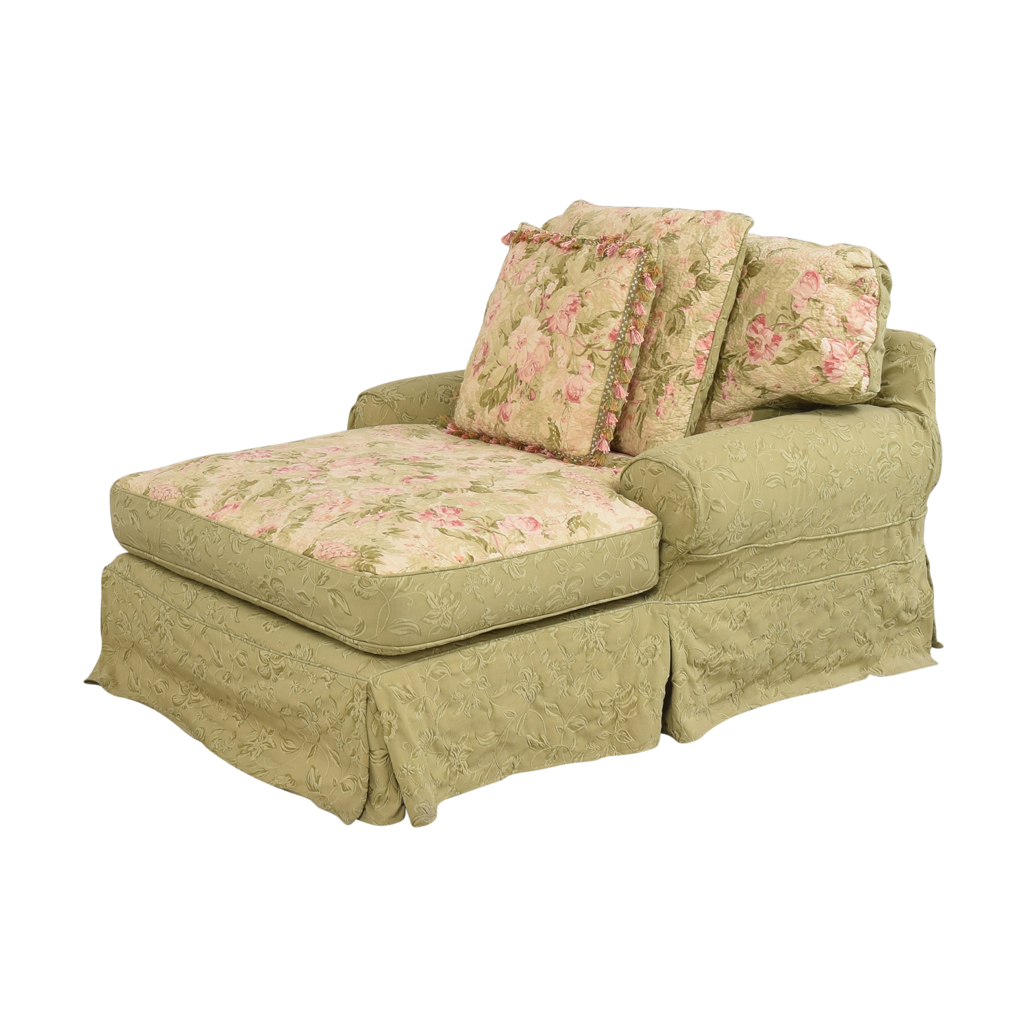 buy Domain Home Slipcovered Chaise Lounge Domain