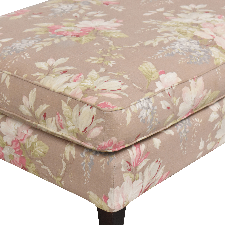 Domain Domain Home Floral Chaise Chaises