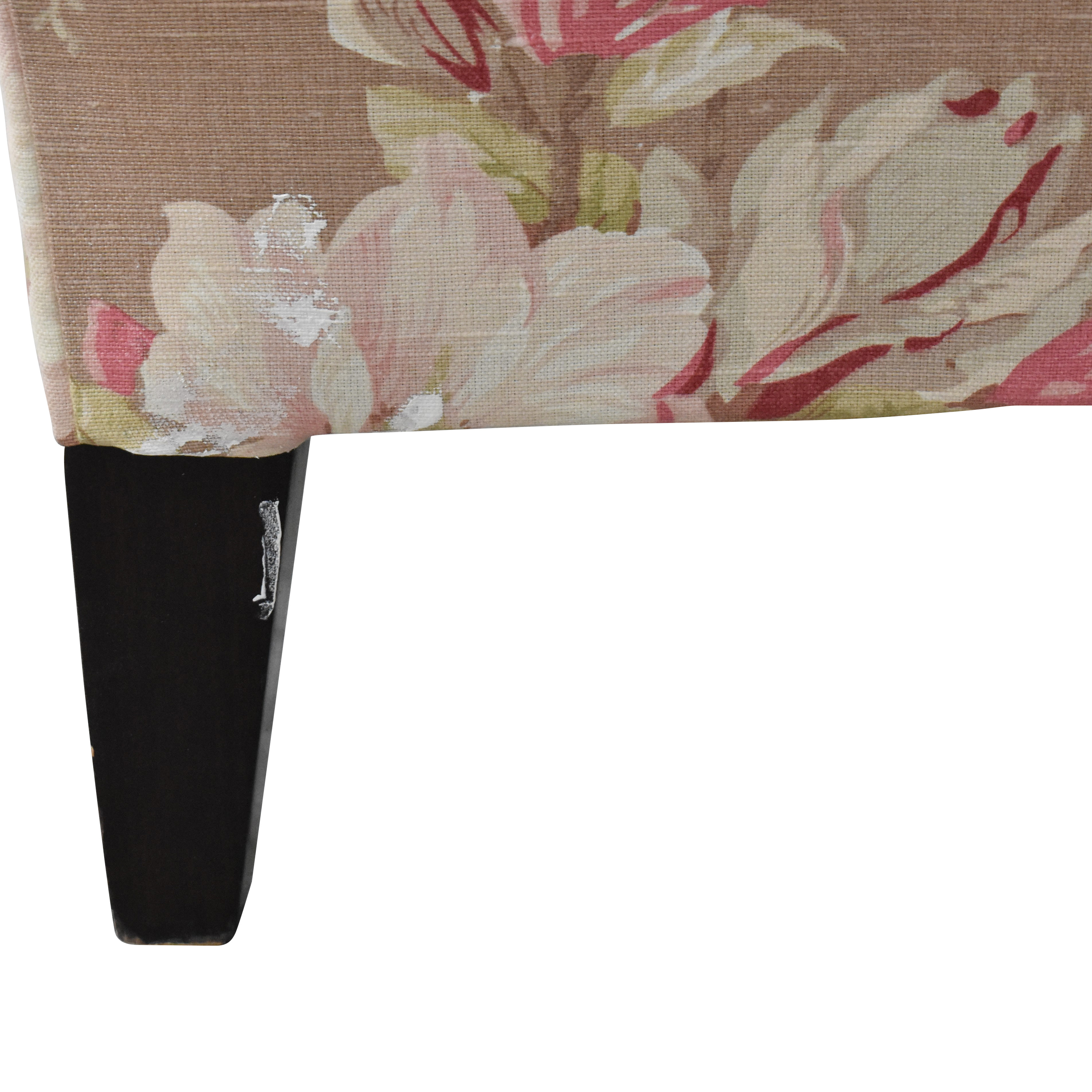 Domain Domain Home Floral Chaise multi