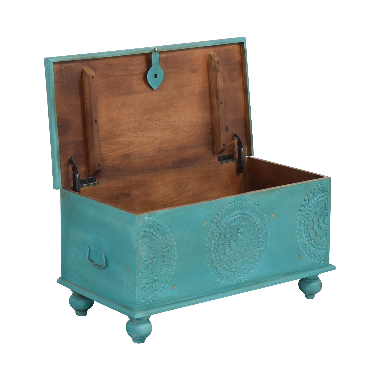 Overstock Overstock Porter Designs Leela Coffee Table Trunk nyc