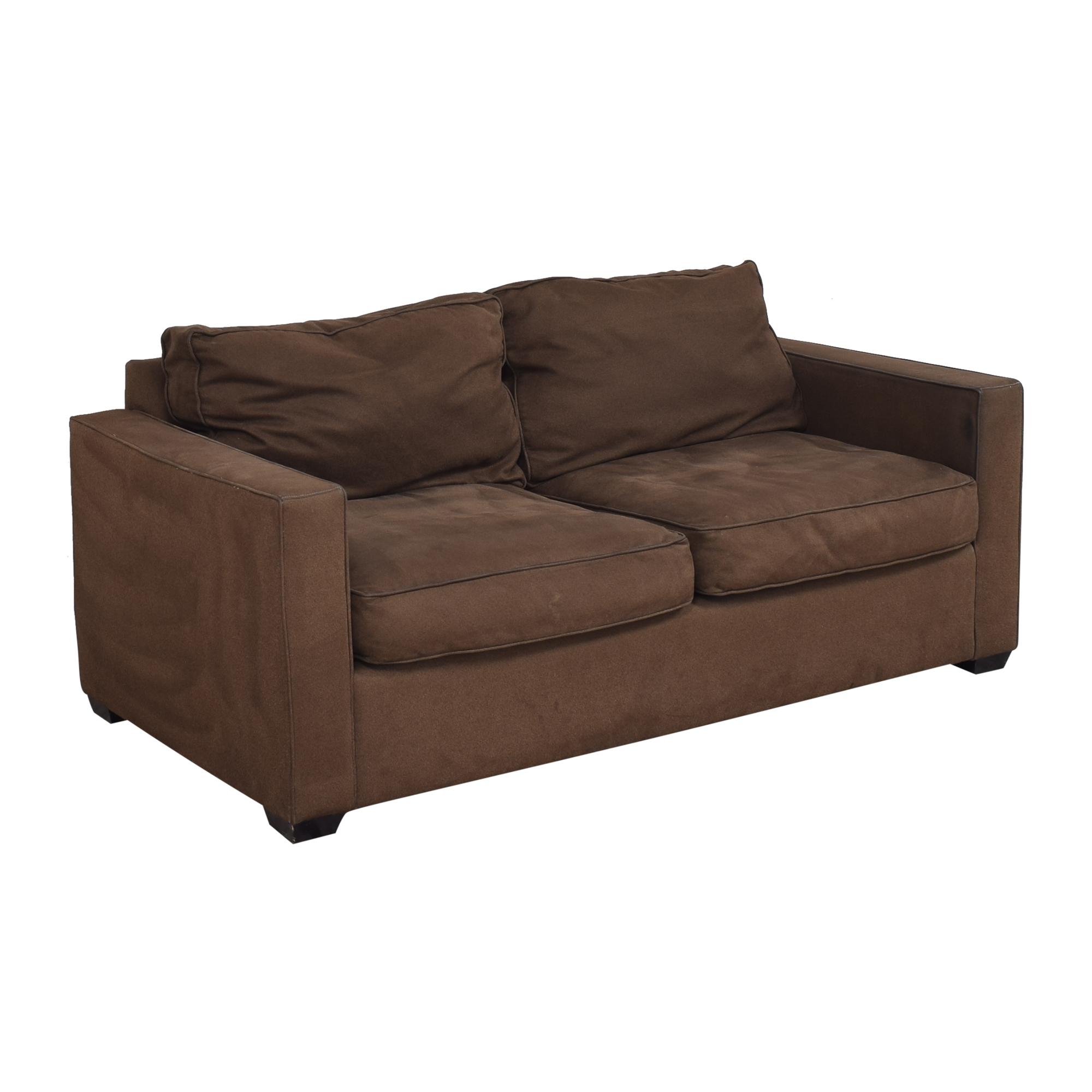 Room & Board Room & Board York Two Cushion Sofa nj