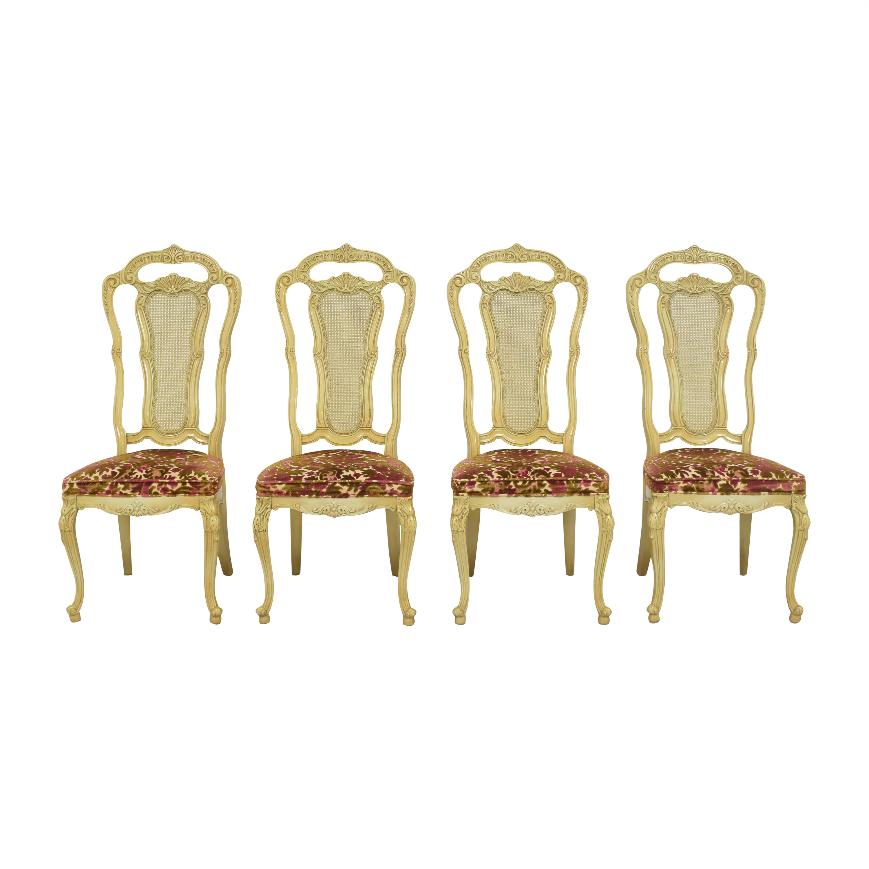 Union Furniture Company  Union Furniture Company French Provincial Dining Chairs on sale