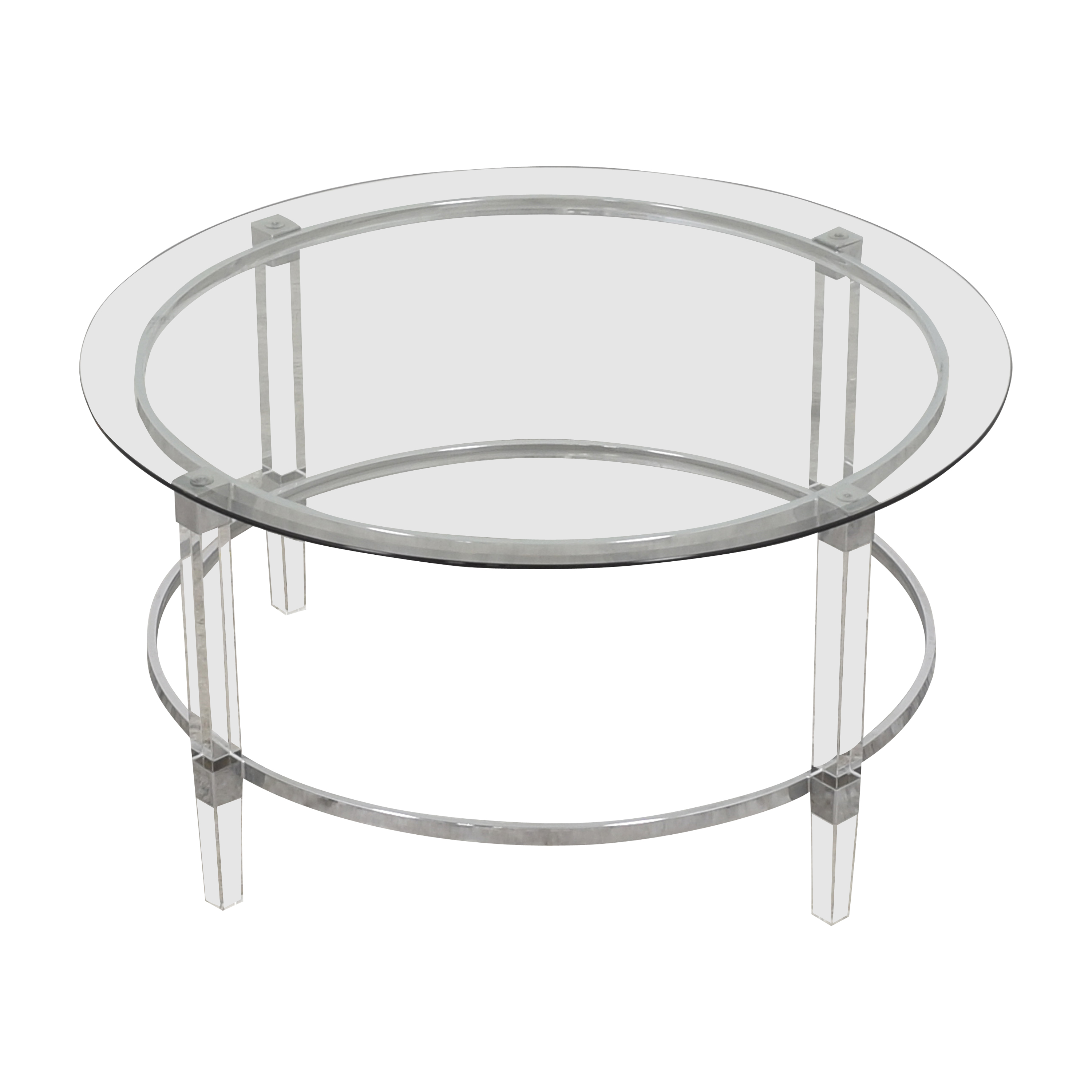 Noble House Noble House Elowen Transparent Coffee Table on sale