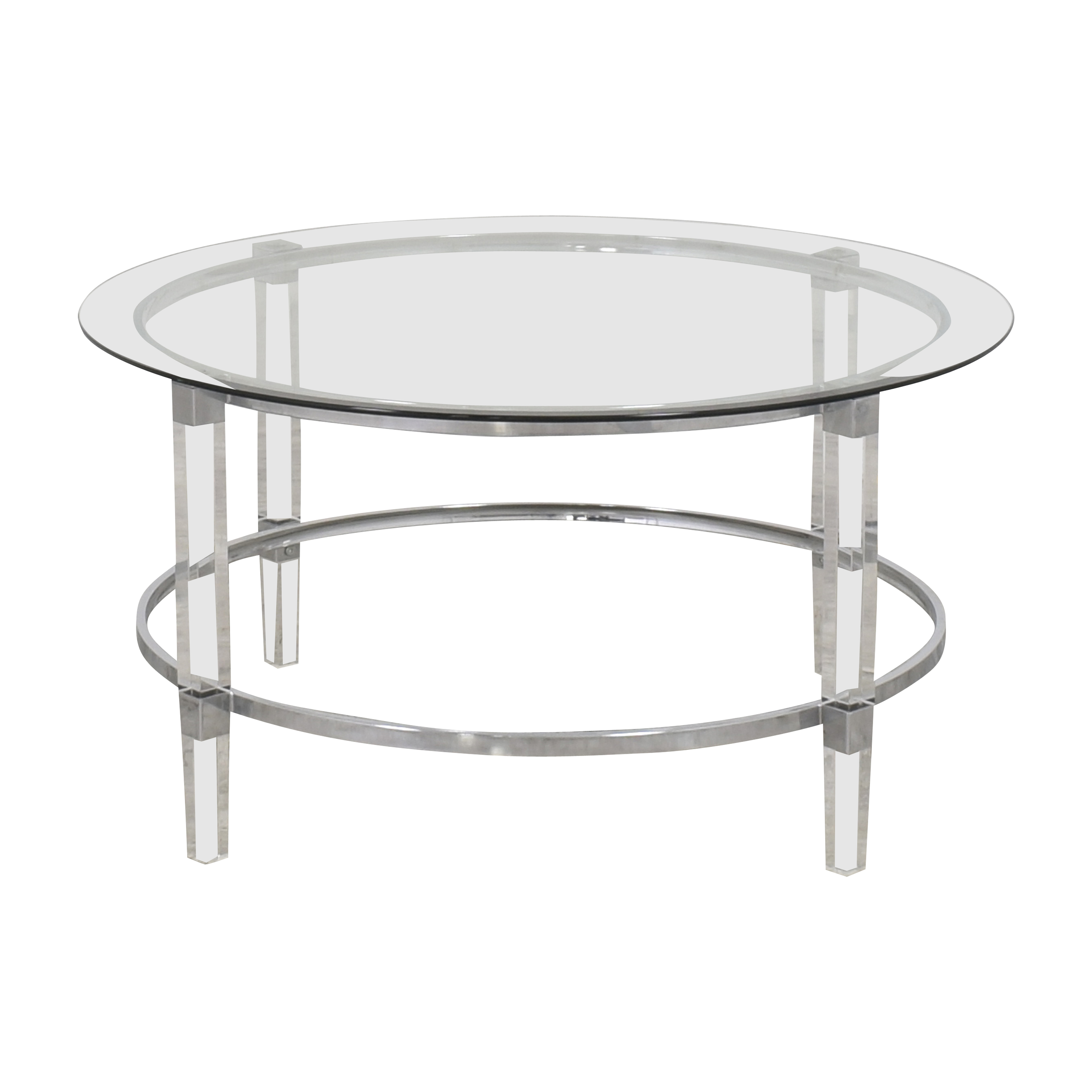 shop Noble House Elowen Transparent Coffee Table Noble House Tables