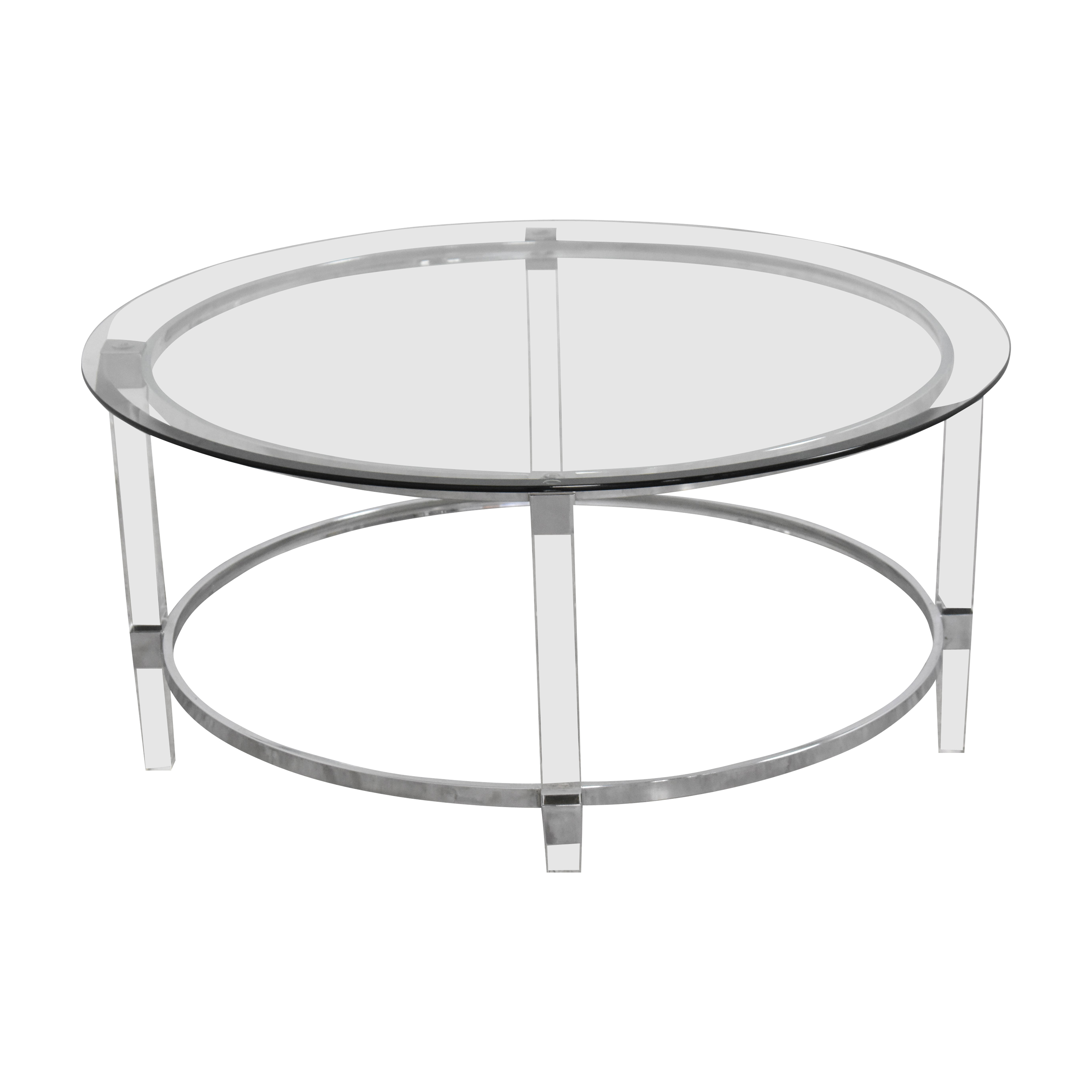 Noble House Noble House Elowen Transparent Coffee Table nyc