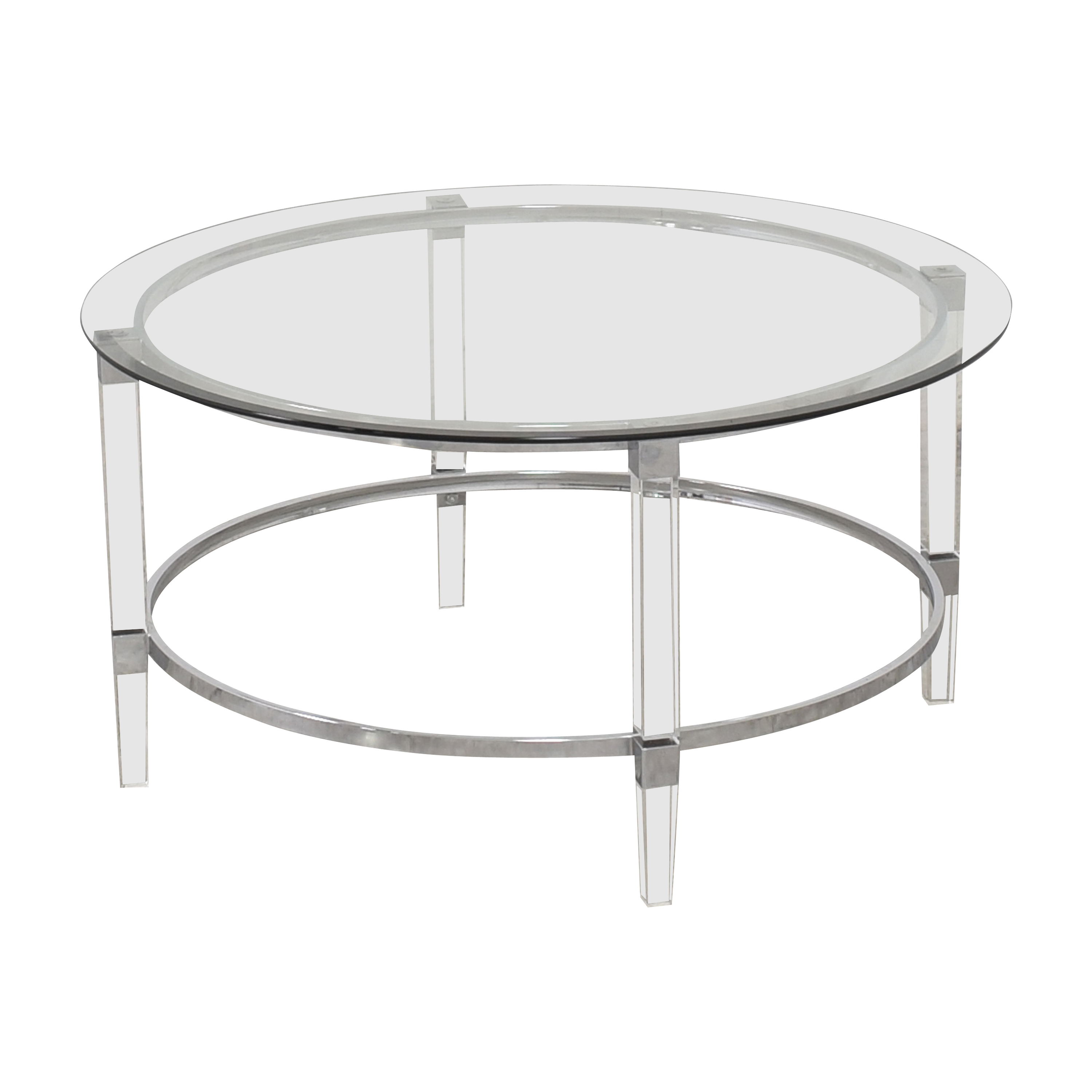 buy Noble House Elowen Transparent Coffee Table Noble House Tables