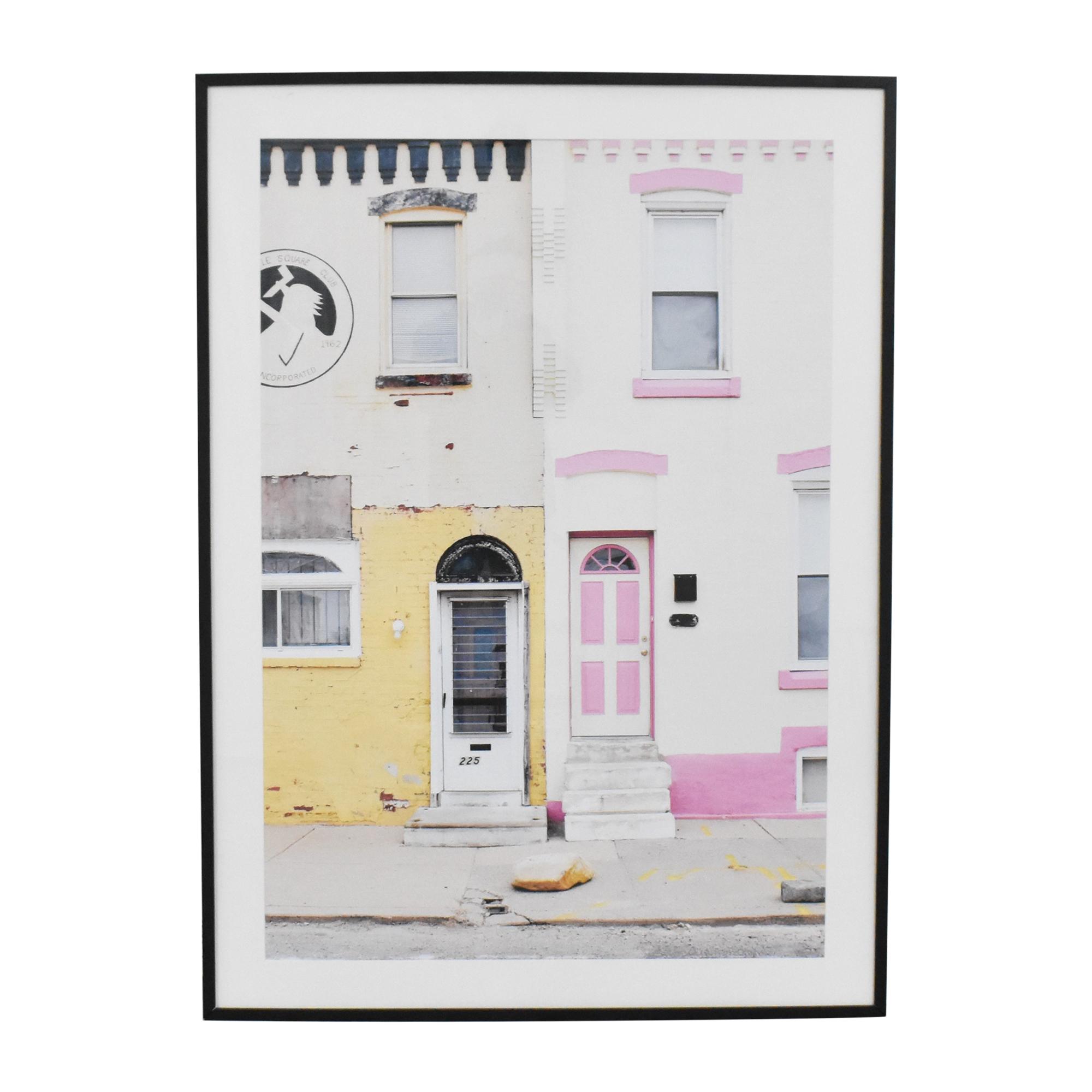 City Scene Framed Wall Art on sale
