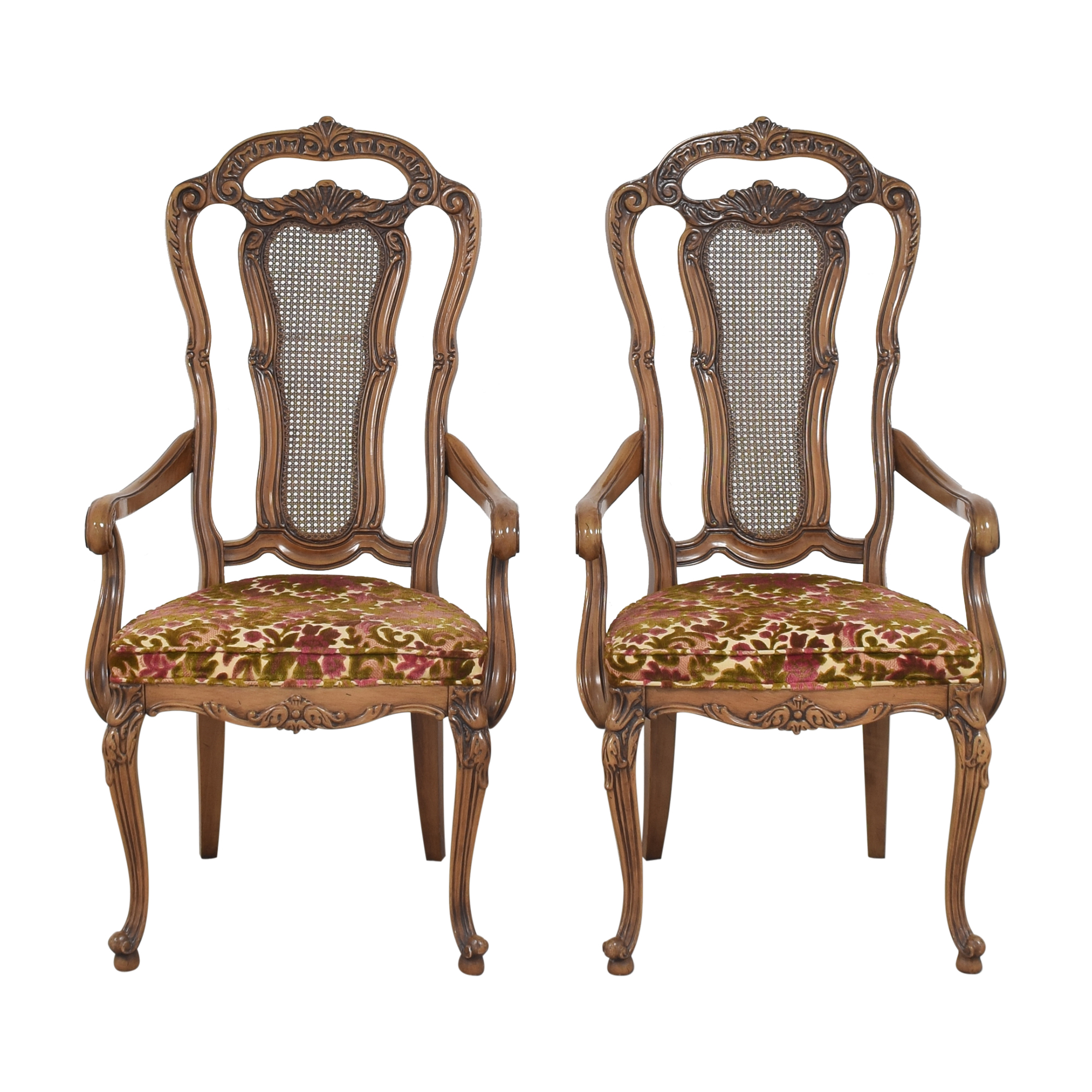 shop Union Furniture Company French Provincial Dining Arm Chairs Union Furniture Company Dining Chairs