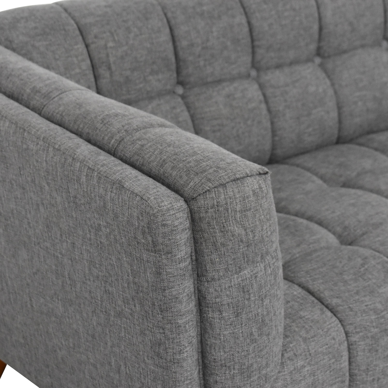 Wayfair Wayfair Corrigan Studio Luke Mid-Century Modern Sofa