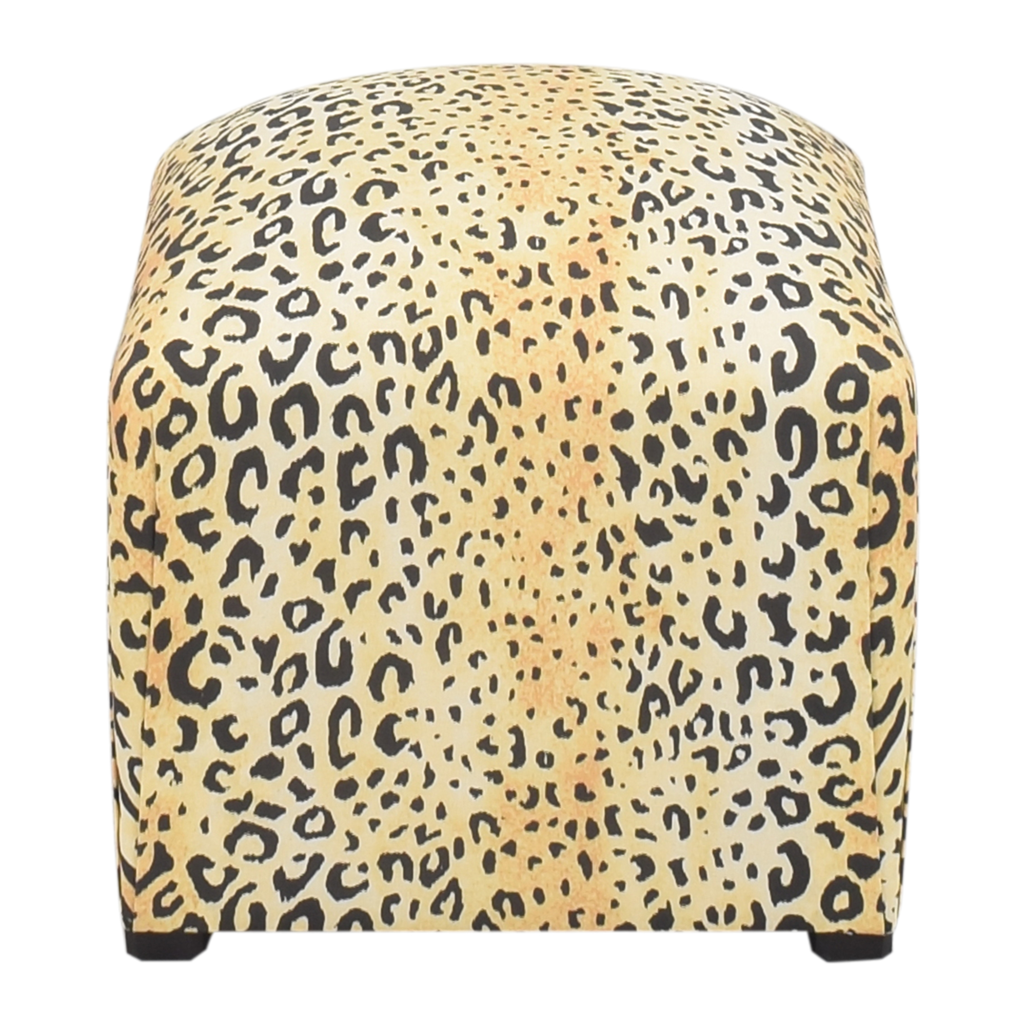 The Inside Leopard Deco Ottoman sale
