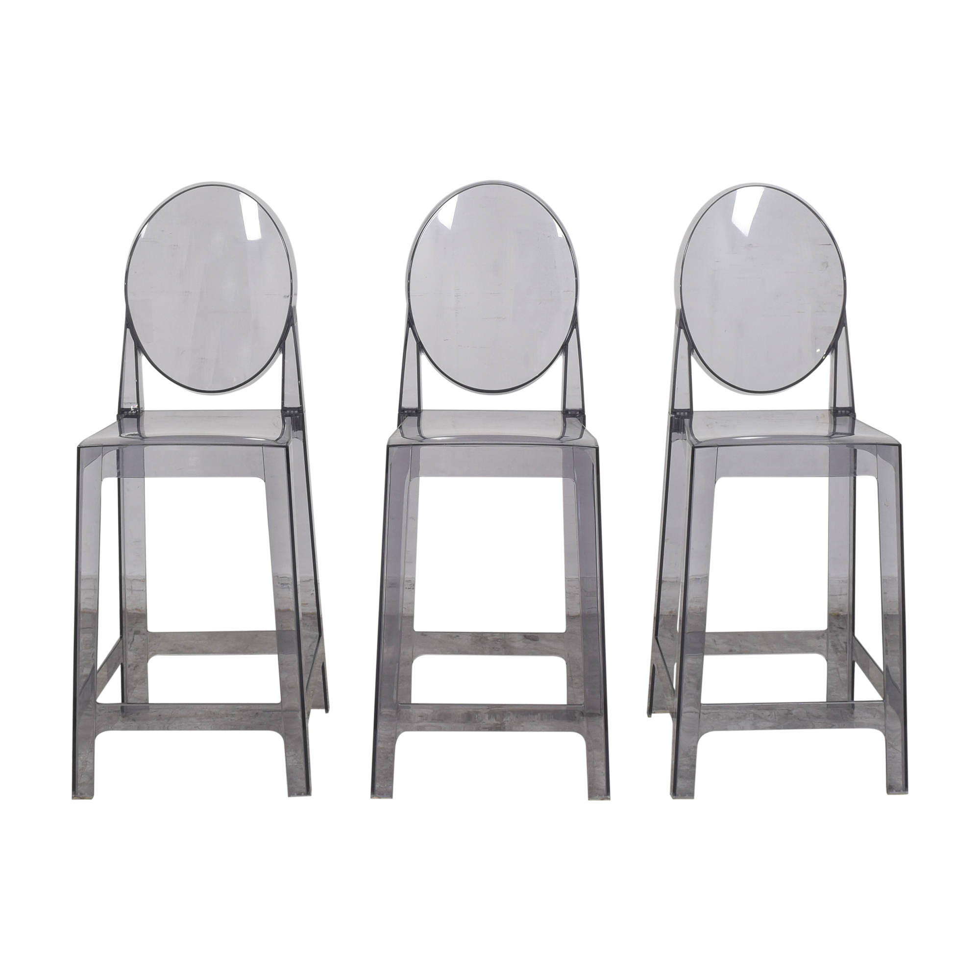 2xhome 2xhome Victoria Style Ghost Bar Stools ma