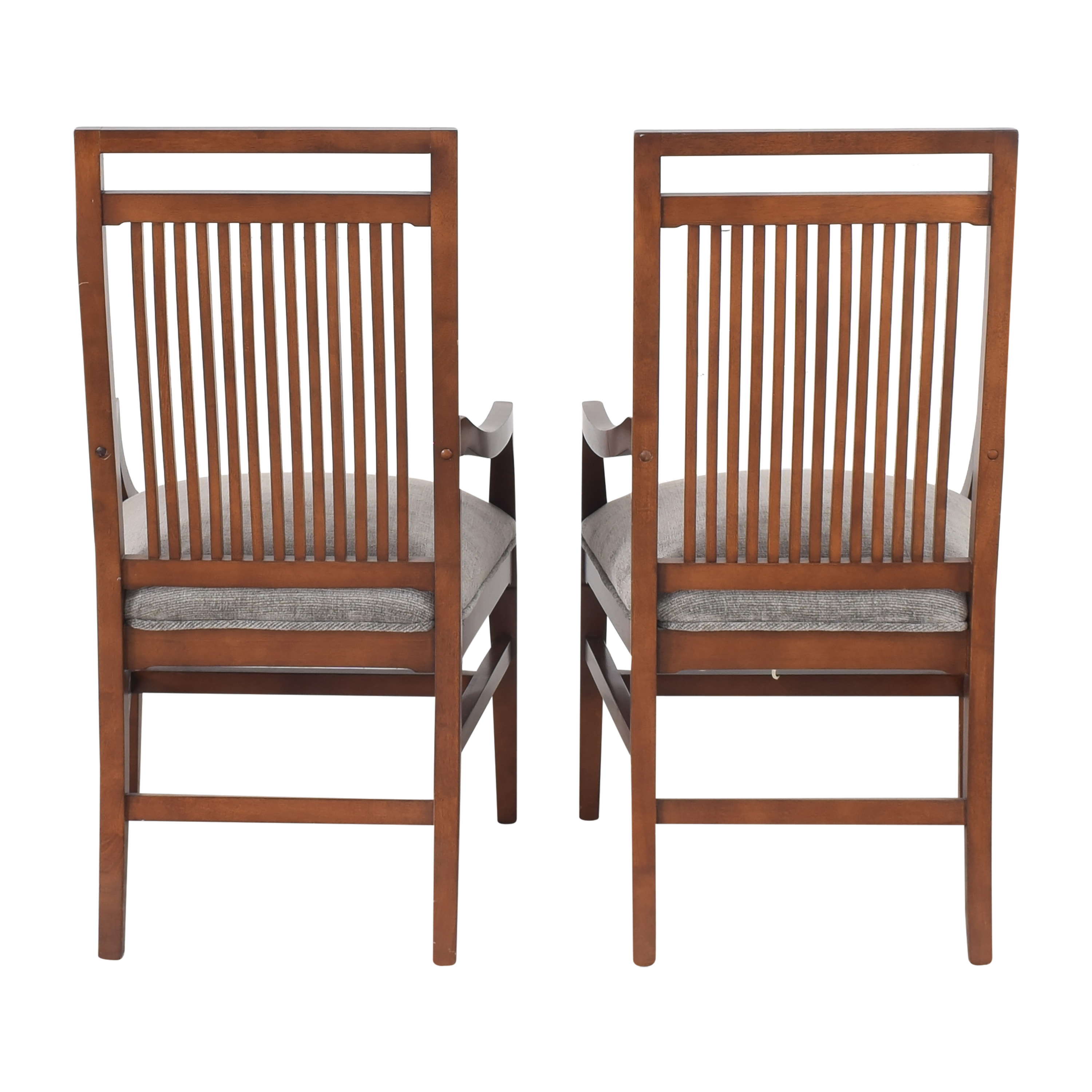 Raymour & Flanigan Raymour & Flanigan Dining Armchairs by Bernhardt dimensions