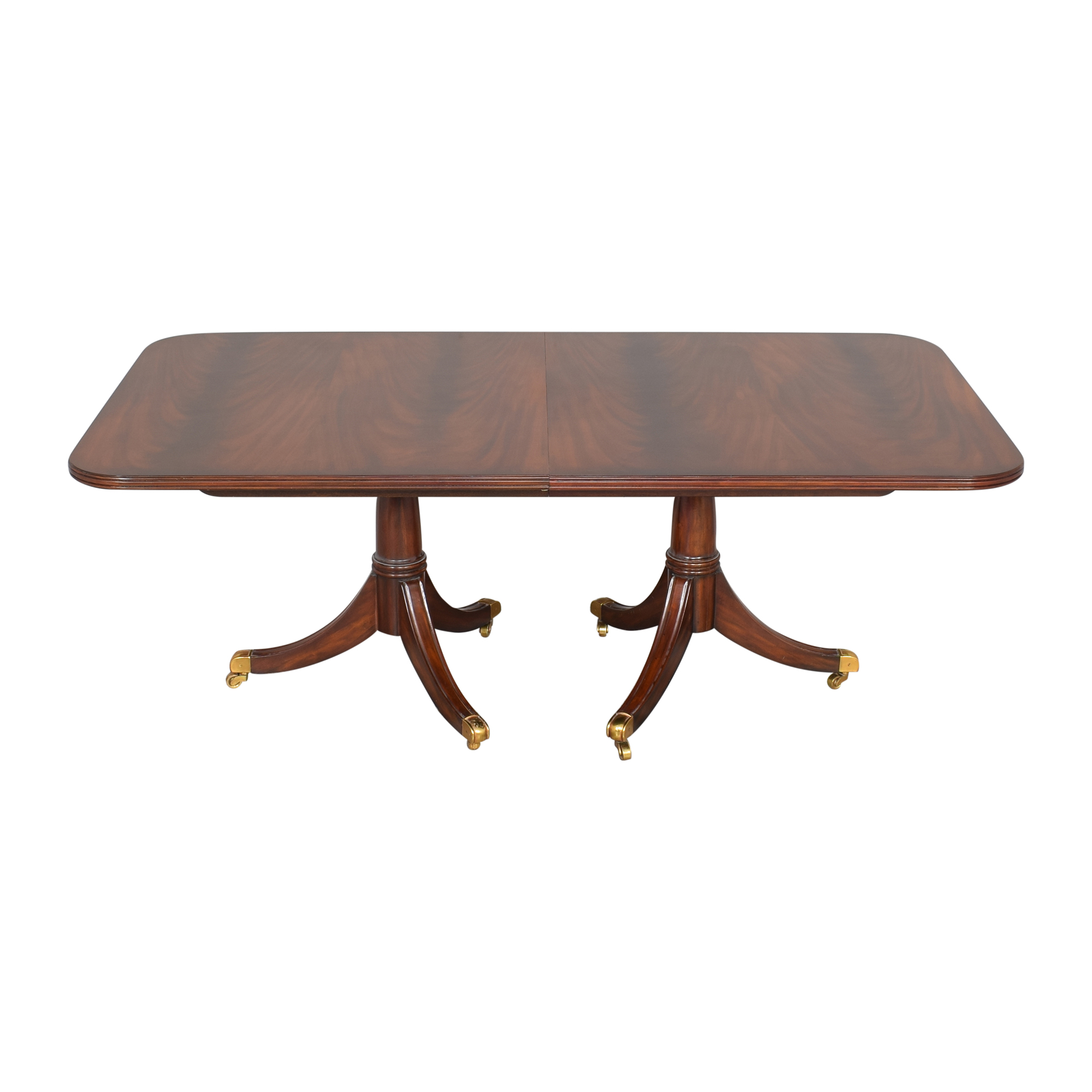 Maitland-Smith Maitland-Smith Double Pedestal Extendable Dining Table on sale