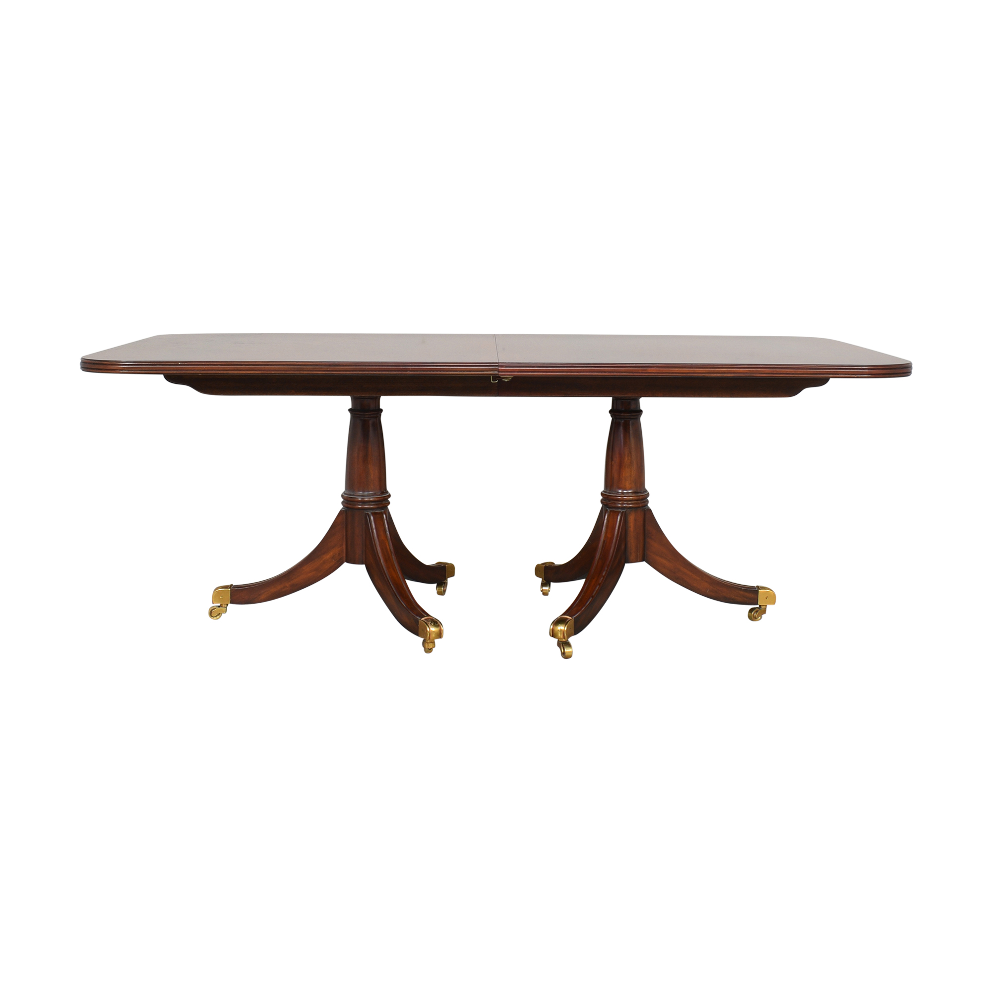 Maitland-Smith Maitland-Smith Double Pedestal Extendable Dining Table second hand
