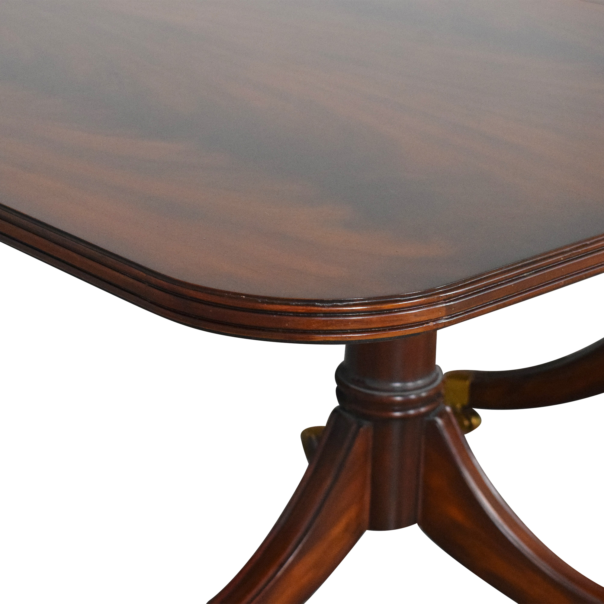 Maitland-Smith Maitland-Smith Double Pedestal Extendable Dining Table used