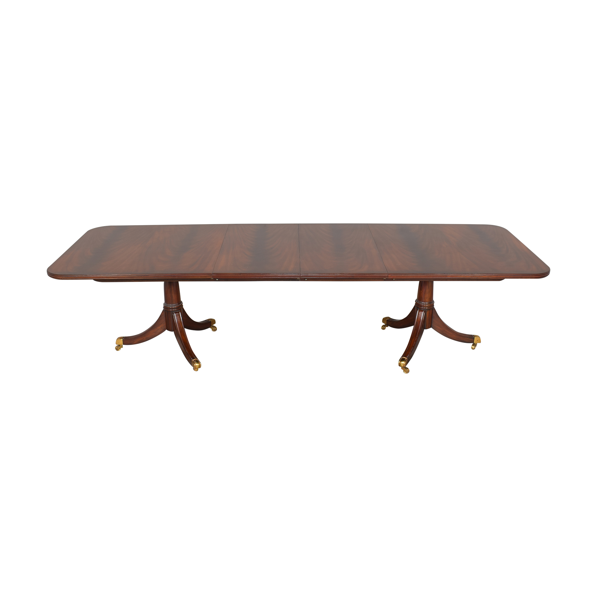 shop Maitland-Smith Double Pedestal Extendable Dining Table Maitland-Smith Tables