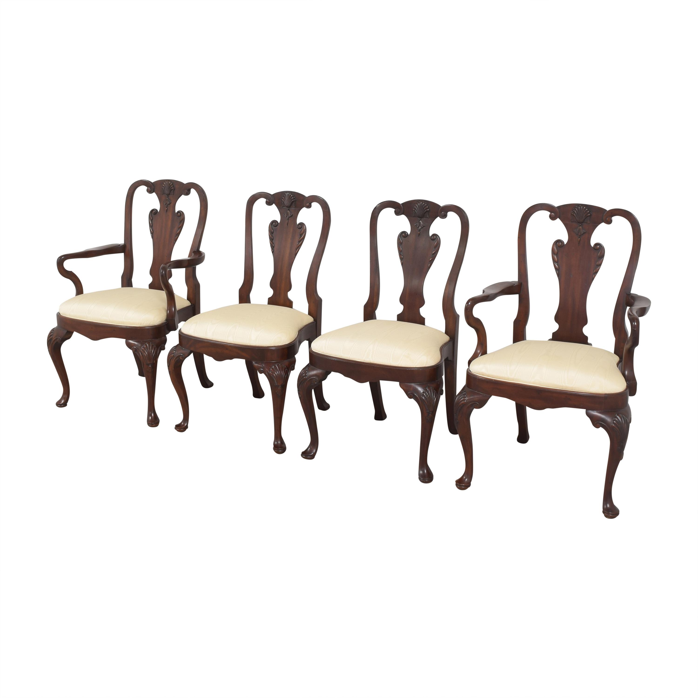 Maitland-Smith Regency Dining Chairs Maitland-Smith