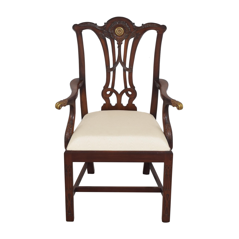 Maitland-Smith Maitland-Smith Carved Arm Chair pa
