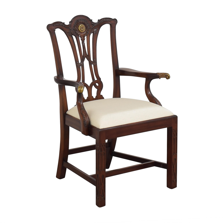 Maitland-Smith Maitland-Smith Carved Arm Chair for sale