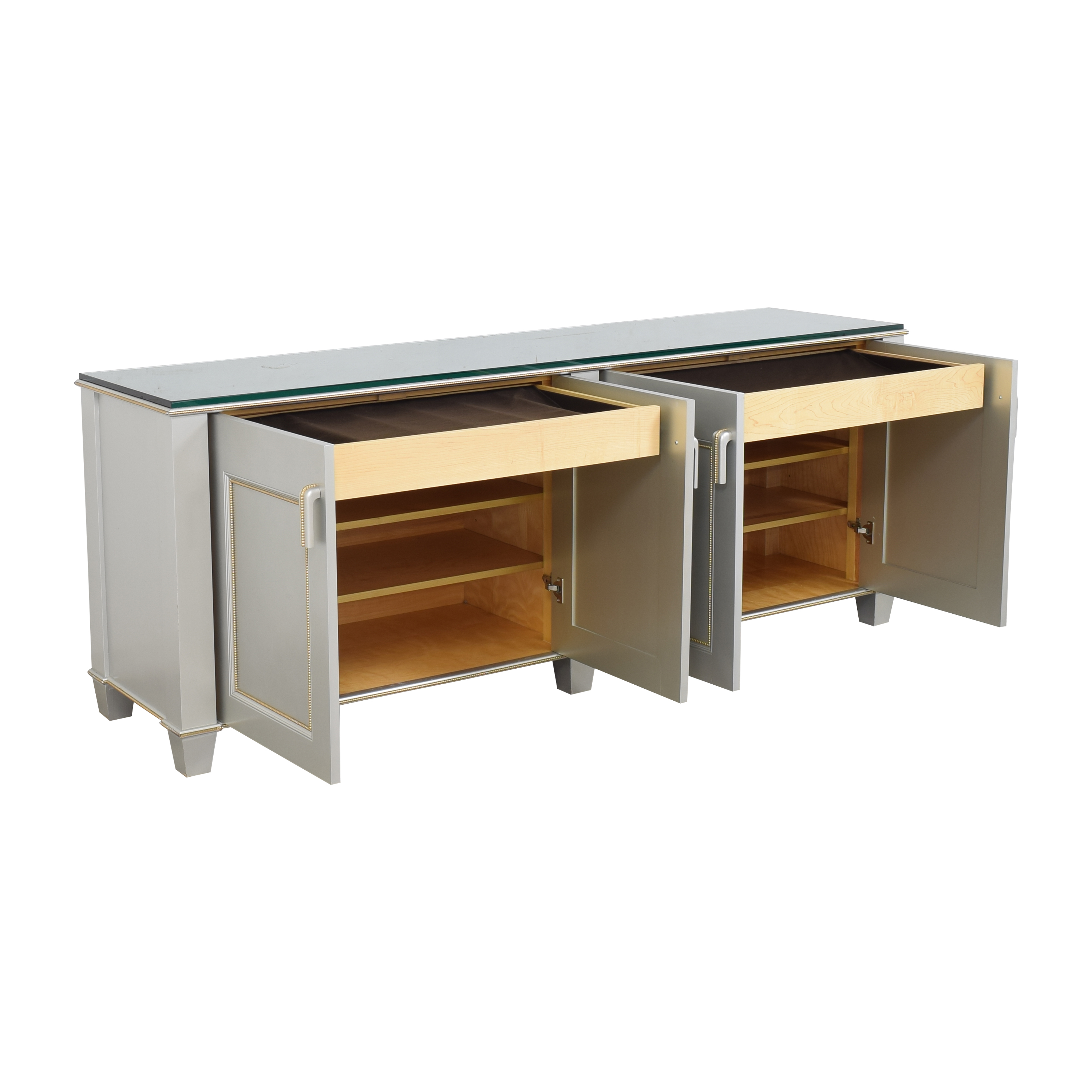 buy Holly Hunt Four Door Credenza Holly Hunt Cabinets & Sideboards