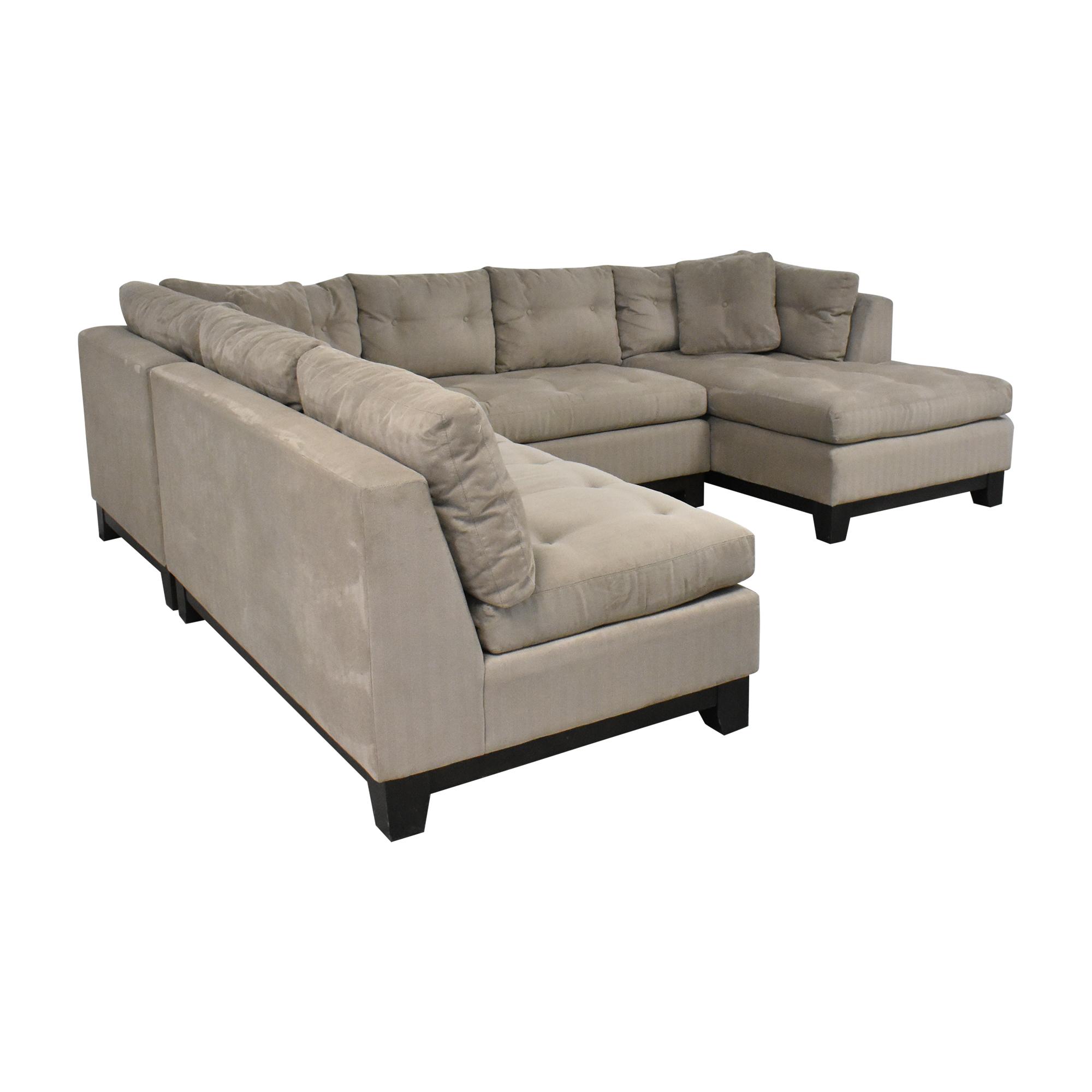 Arhaus Arhaus Camden Collection Chaise Sectional Sofa price