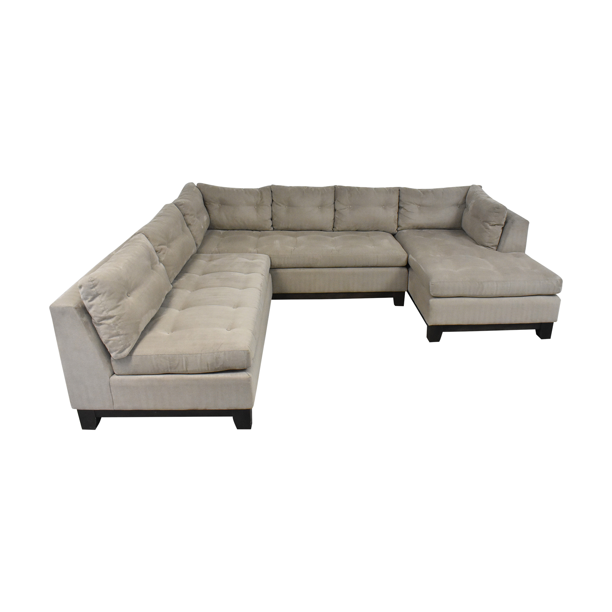 shop Arhaus Camden Collection Chaise Sectional Sofa Arhaus Sectionals