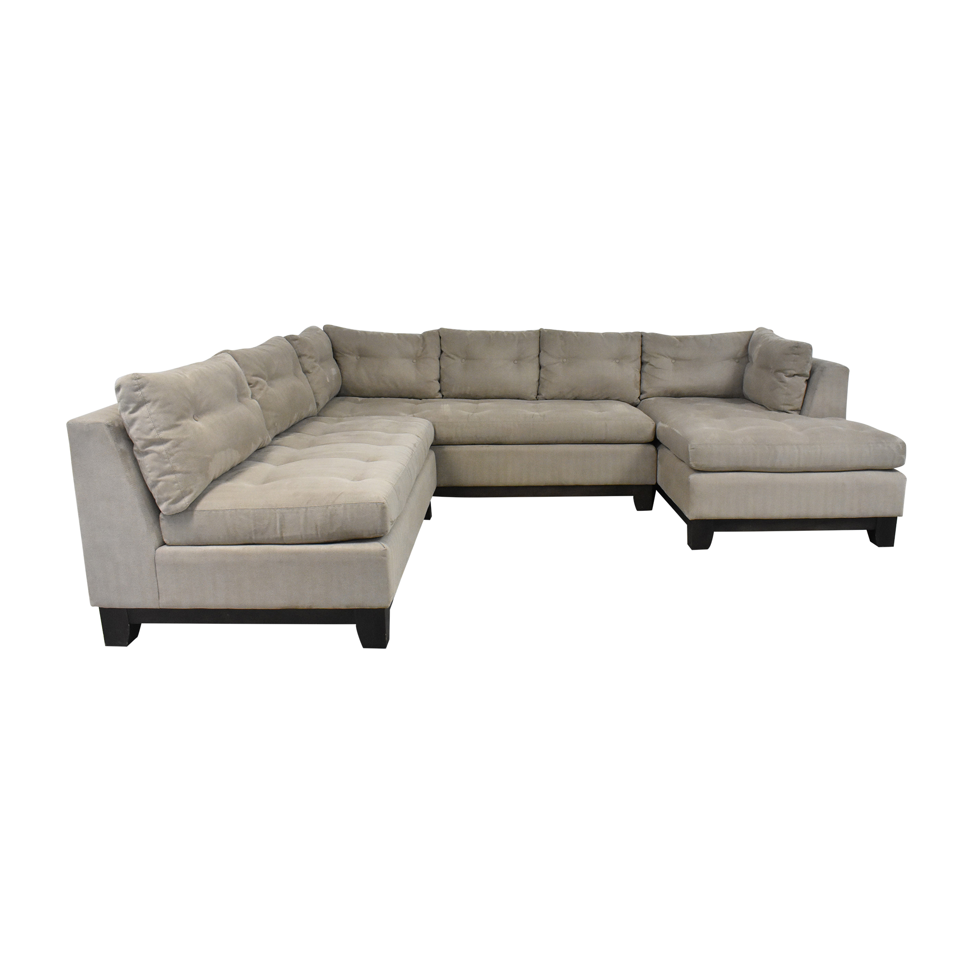 shop Arhaus Camden Collection Chaise Sectional Sofa Arhaus Sofas