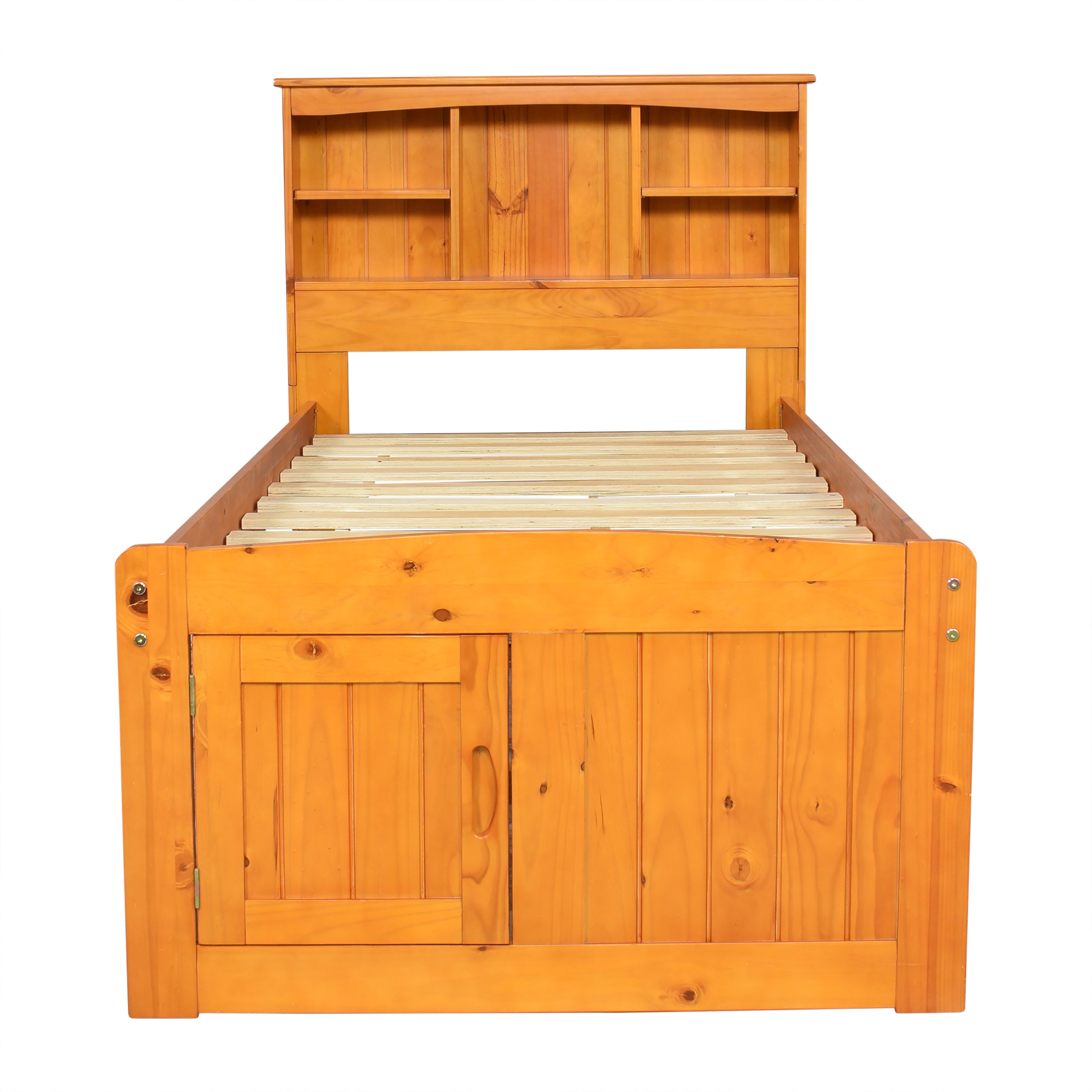 shop Discovery World Furniture Twin Bookcase Captains Storage Bed Discovery World Furniture Beds