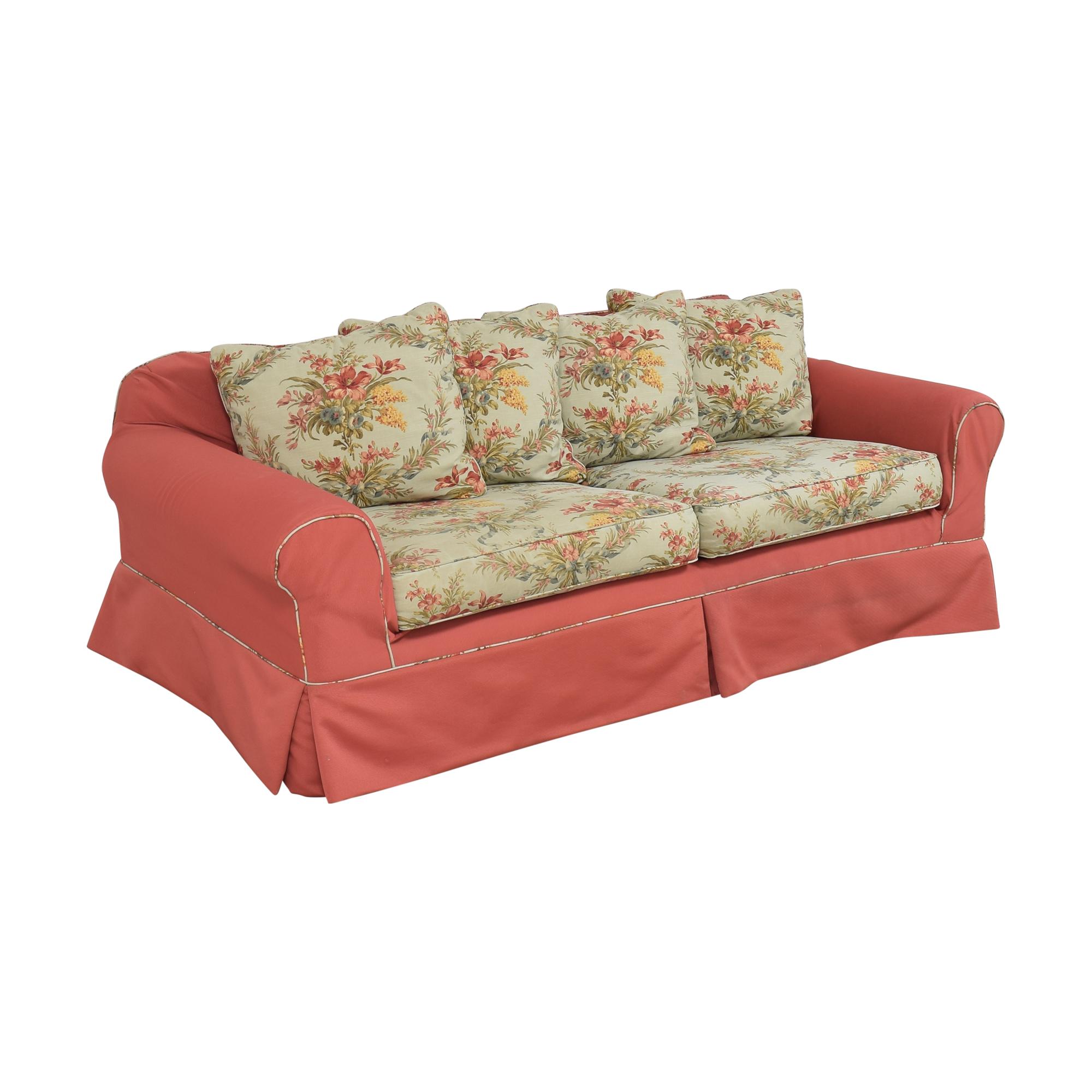 Ethan Allen Slipcovered Sofa Ethan Allen