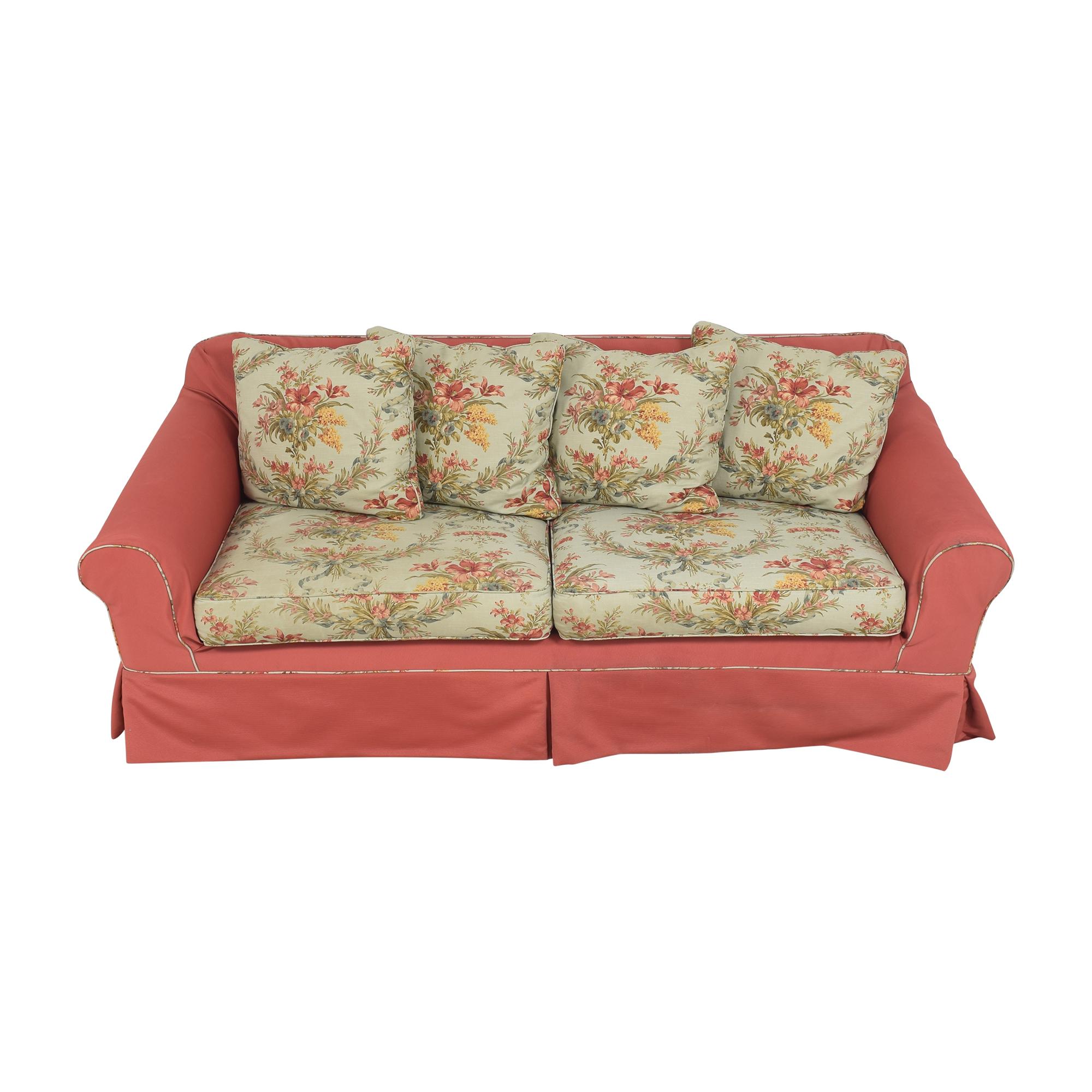 Ethan Allen Ethan Allen Slipcovered Sofa price