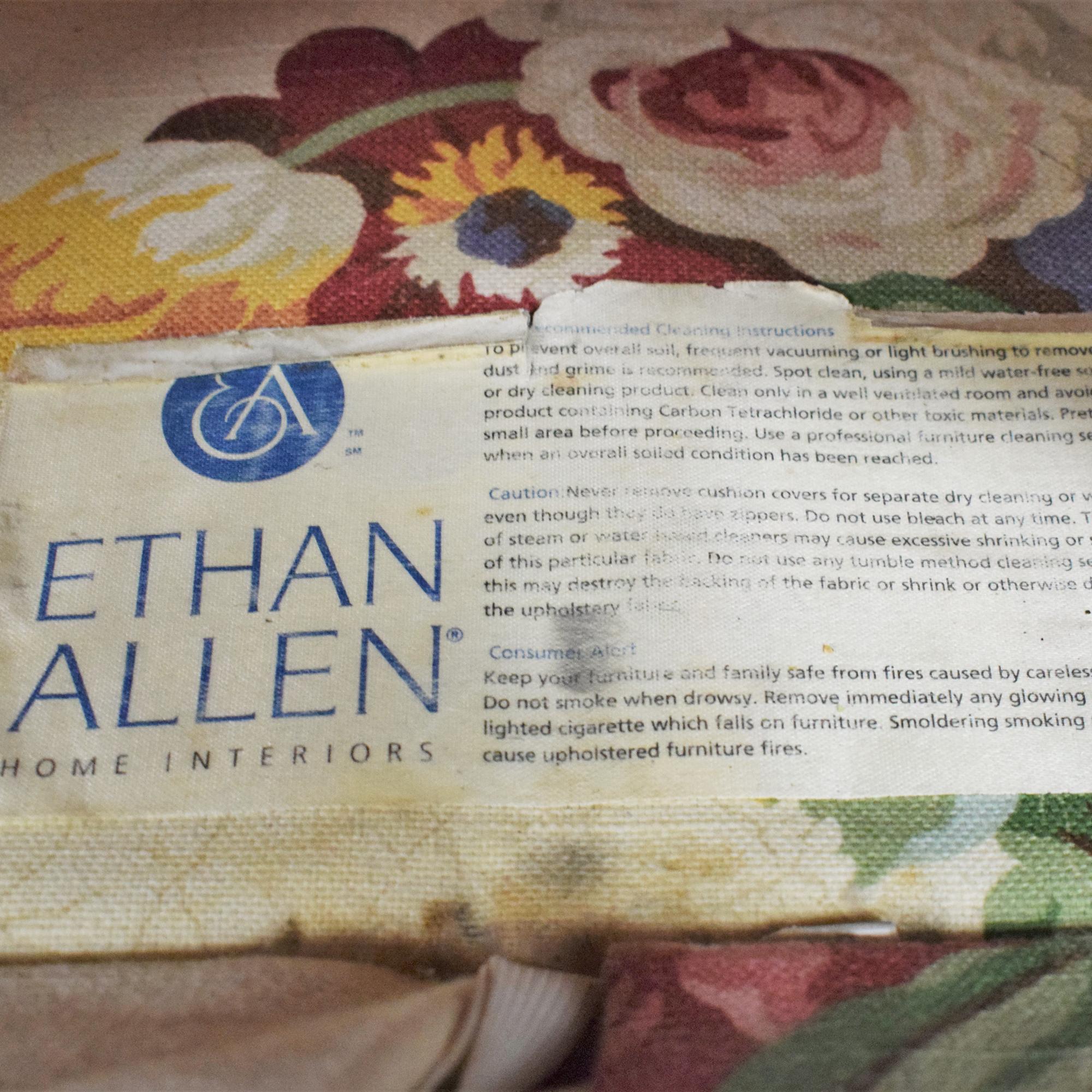 buy Ethan Allen Slipcovered Sofa Ethan Allen Classic Sofas