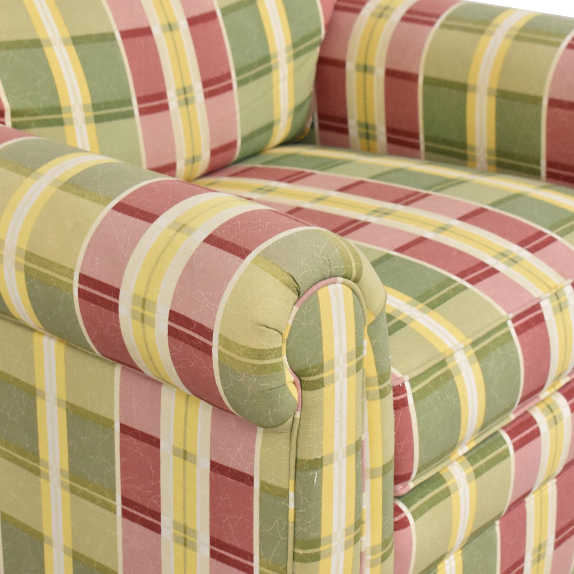 Ethan Allen Ethan Allen Plaid Club Chair nyc