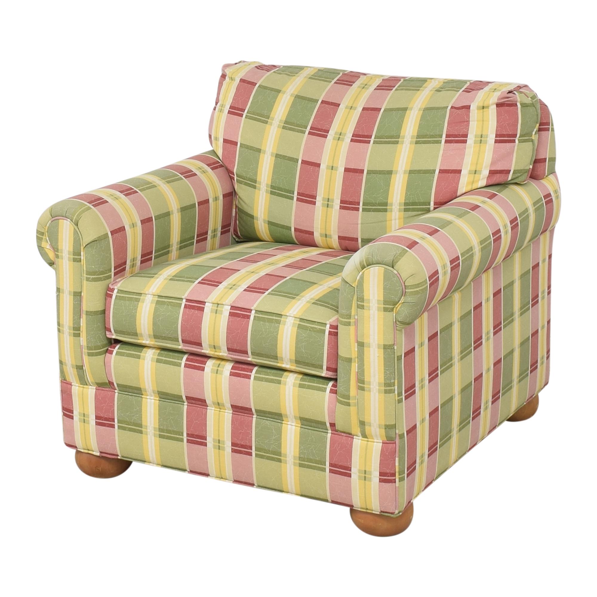 Ethan Allen Ethan Allen Plaid Club Chair