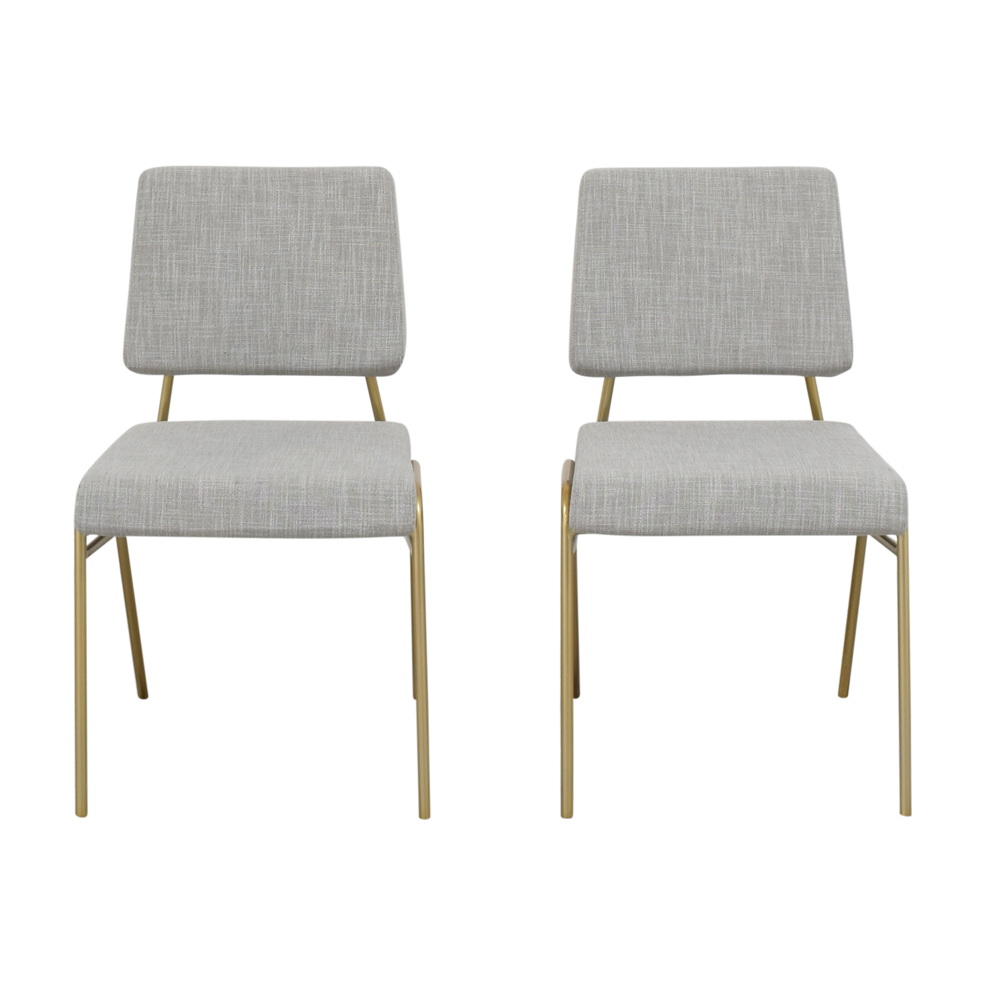 West Elm West Elm Wire Frame Upholstered Dining Chairs price