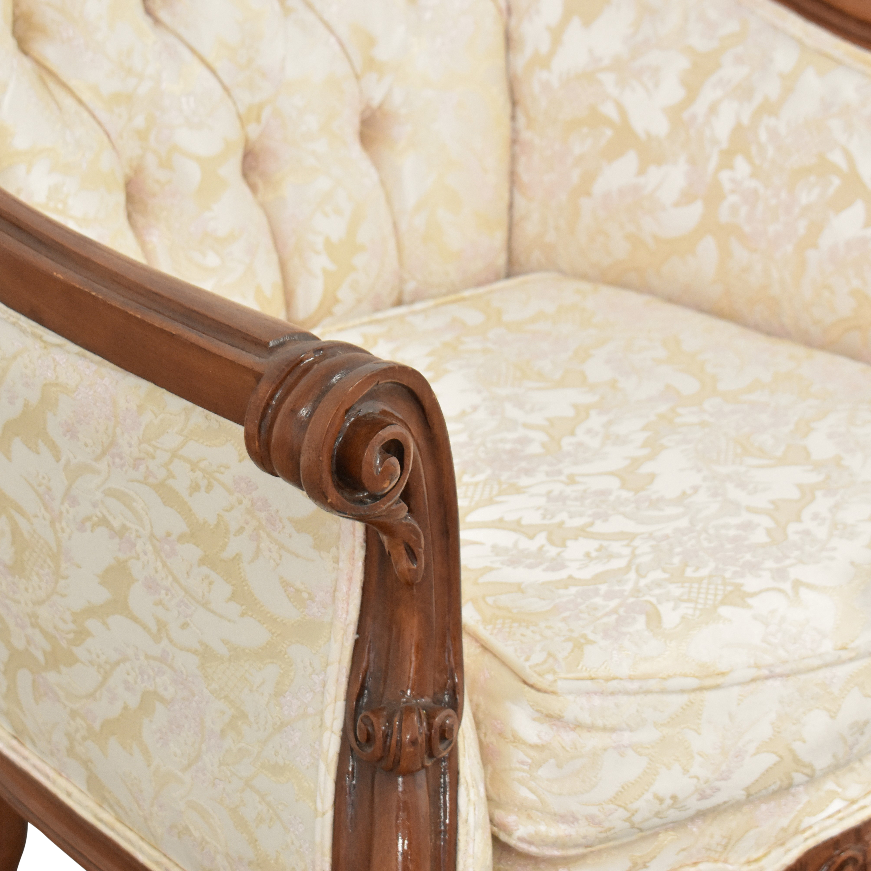 Cellini Victorian Style Accent Chair sale
