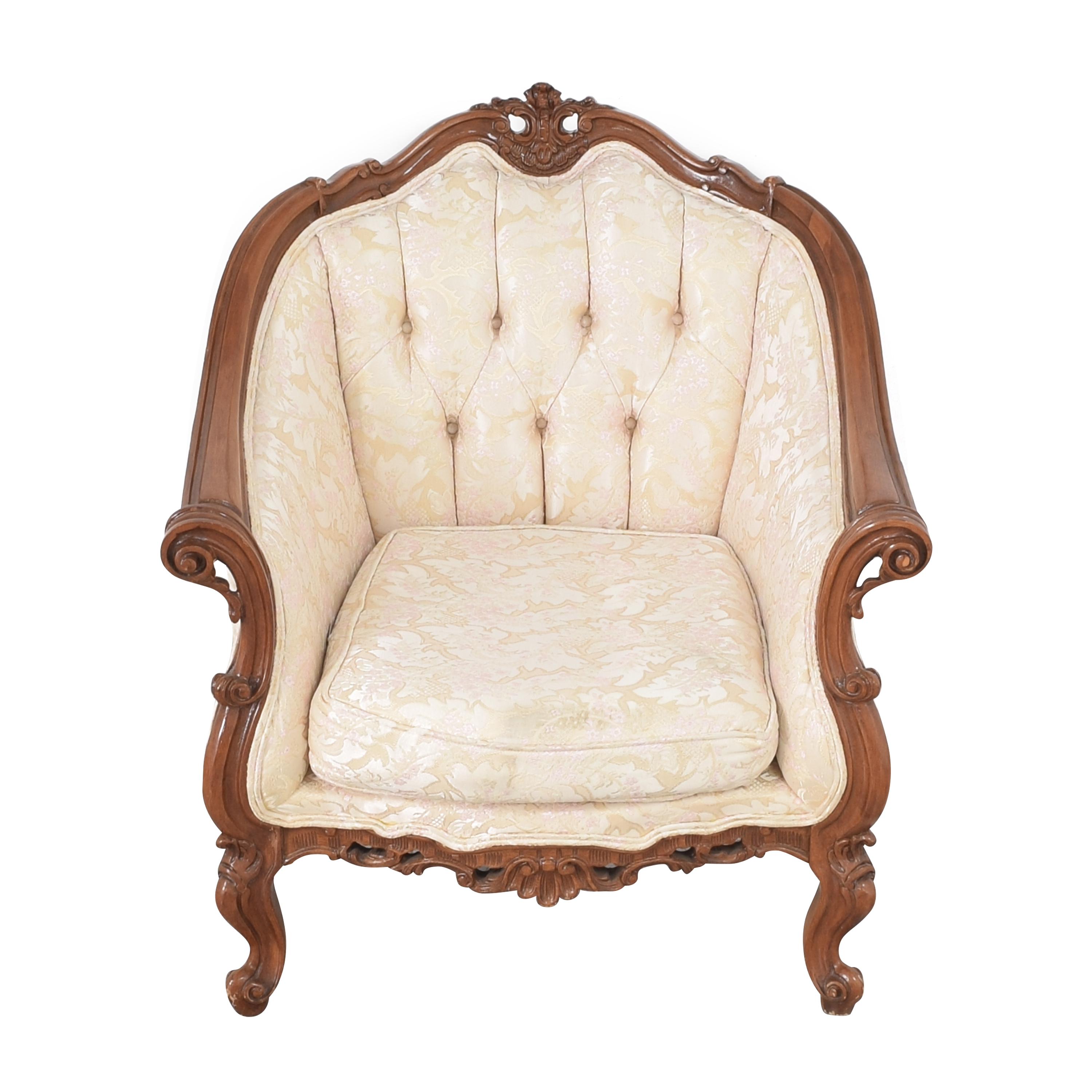 Cellini Victorian Style Accent Chair / Chairs