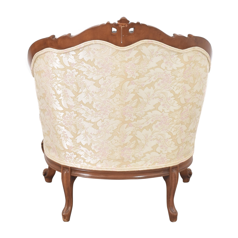 Cellini Victorian Style Accent Chair Cellini