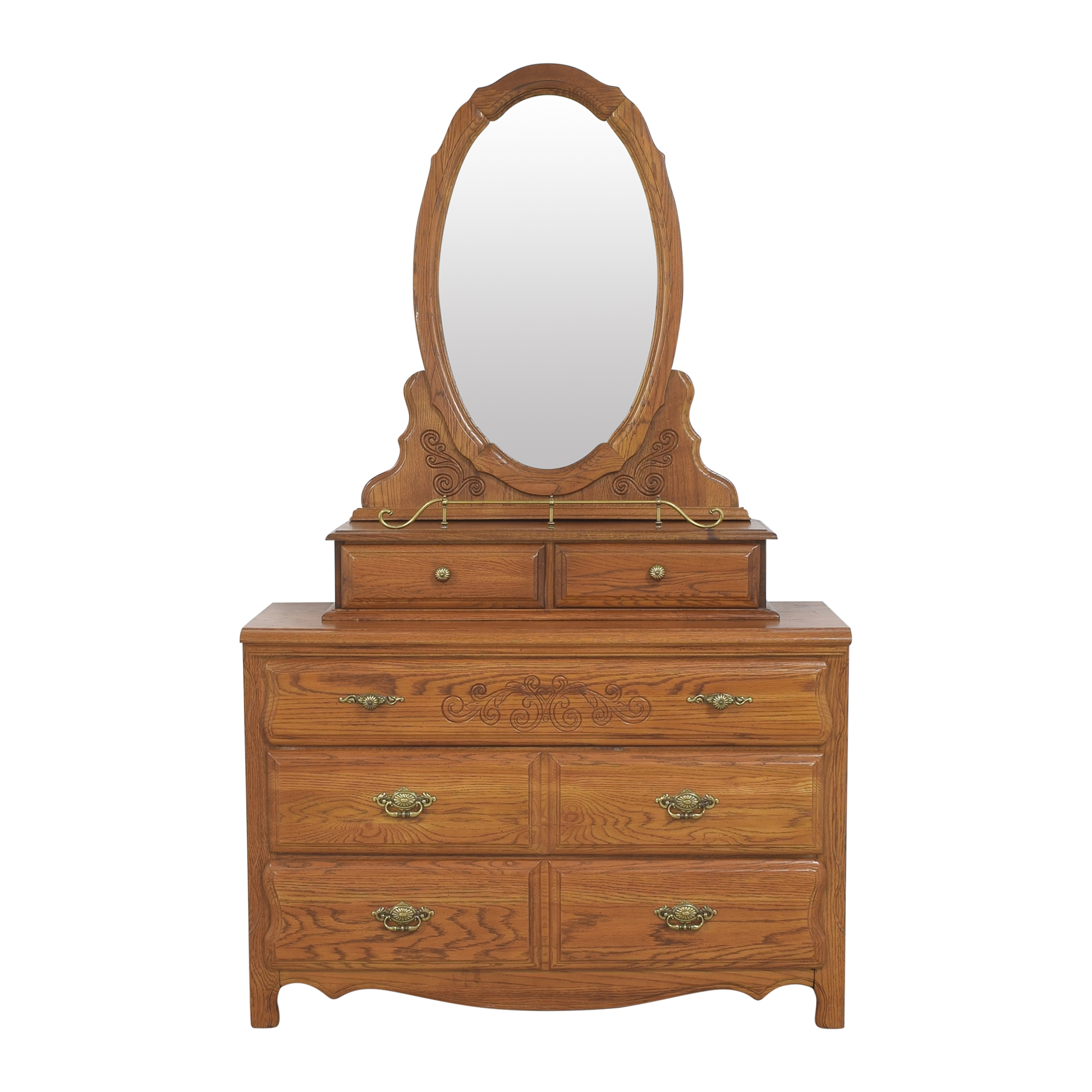 buy Stanley Furniture Dresser with Mirror Stanley Furniture