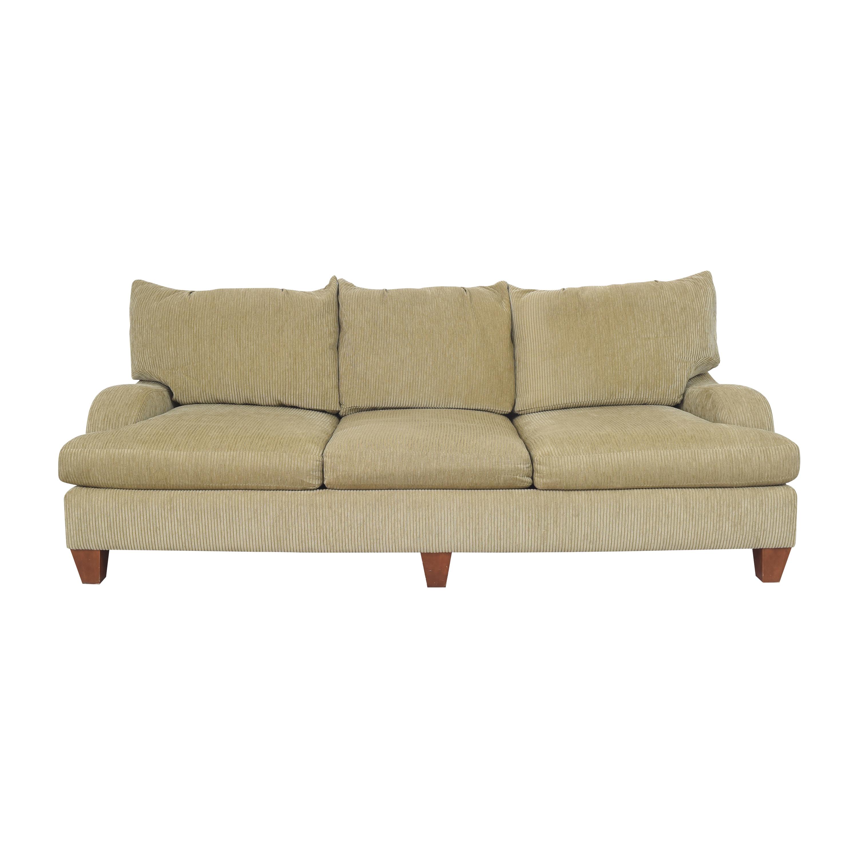 shop Bernhardt Brooke Three Cushion Sofa Bernhardt Sofas